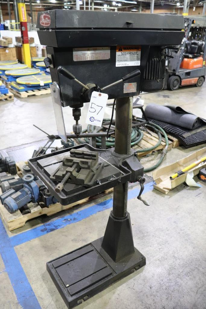 "Dayton Model 6W281 5 speed 20"" drill press - Image 2 of 5"