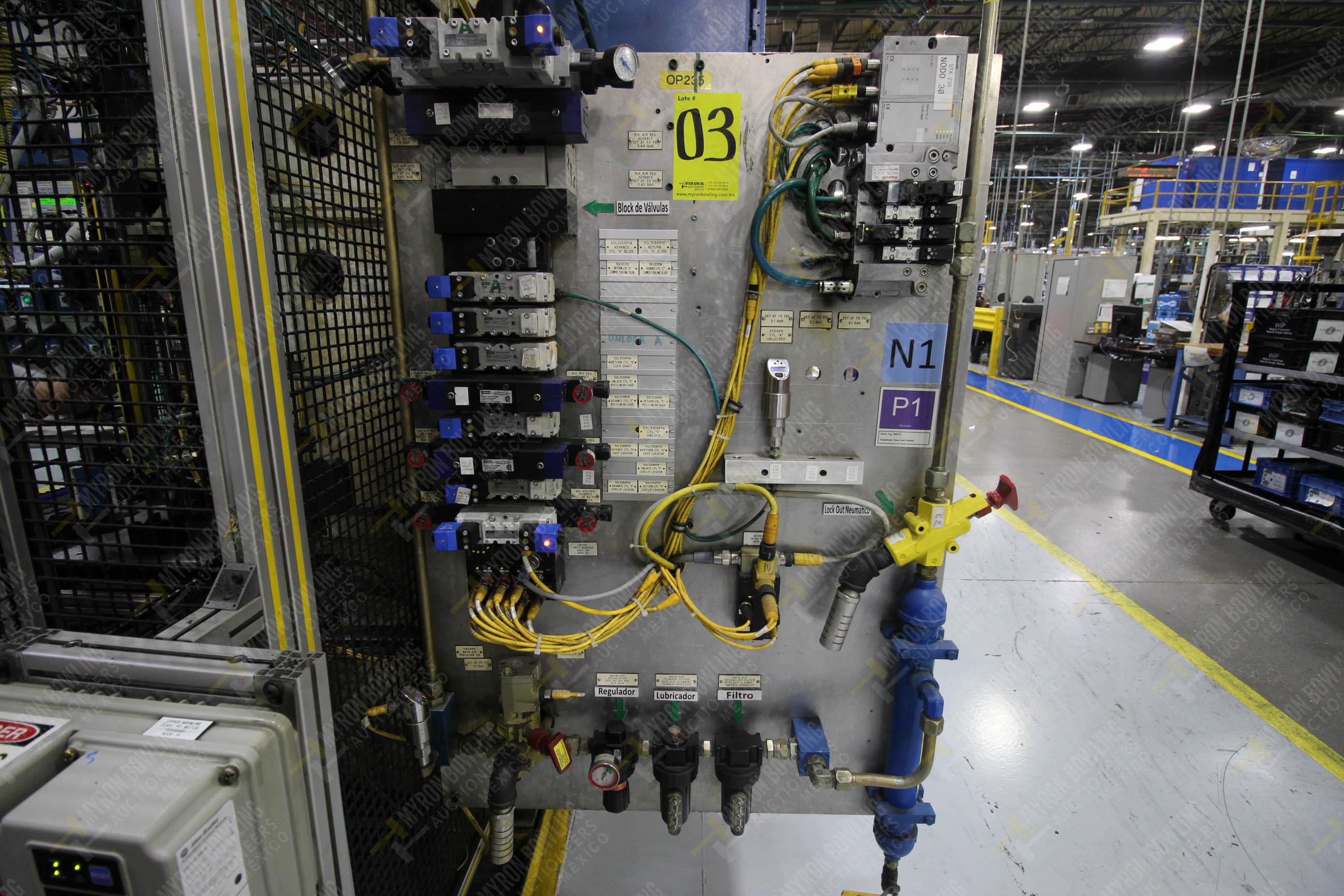 Estación semiautomáticapara operación 235 de ensamble de candado - Image 11 of 22