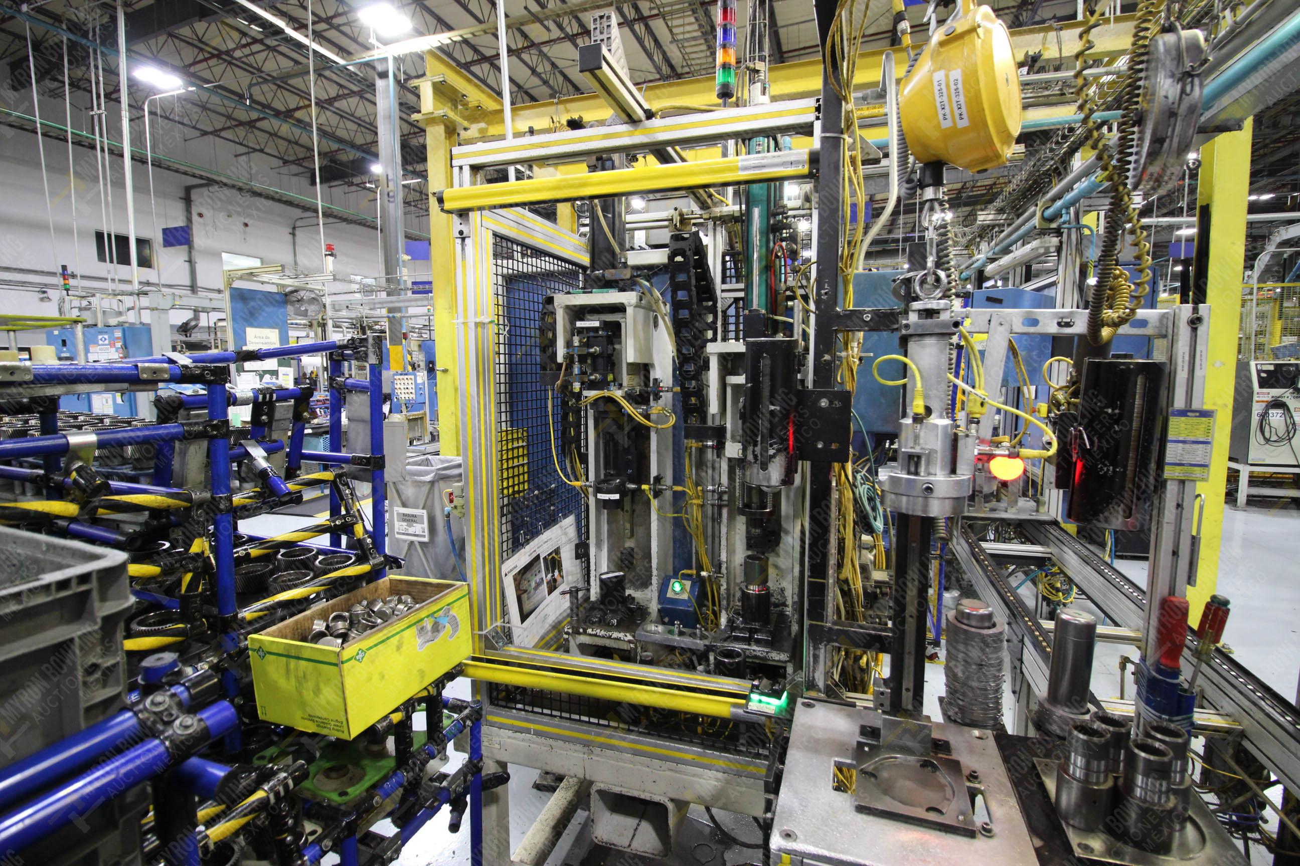 Estación semiautomática para operación 325, contiene: Prensa con dos cilindros marca TOX - Image 7 of 24