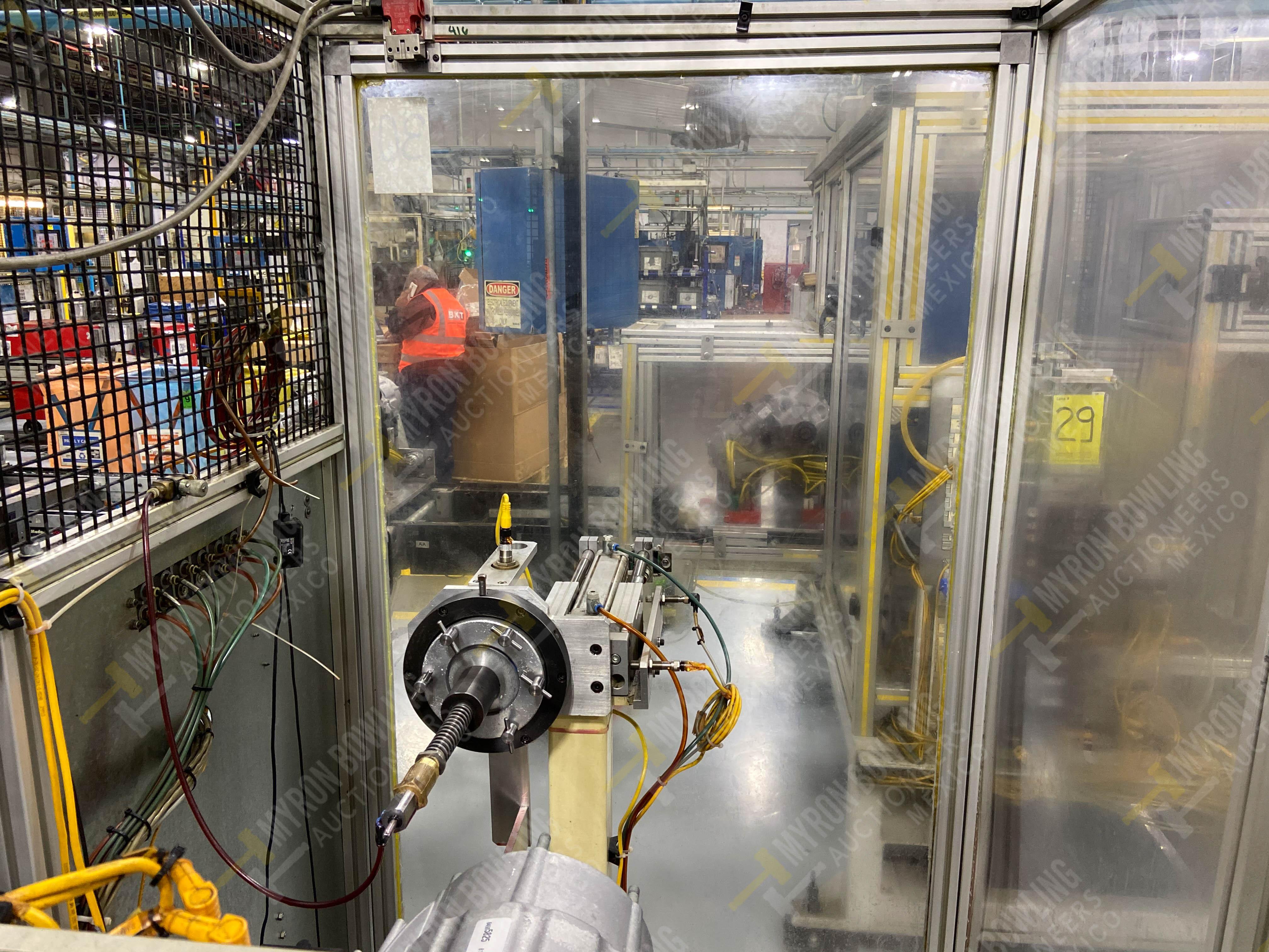 Estación semiautomática para operación 415, contiene: Máquina pesadora de piezas con 1 cilindro - Image 13 of 16