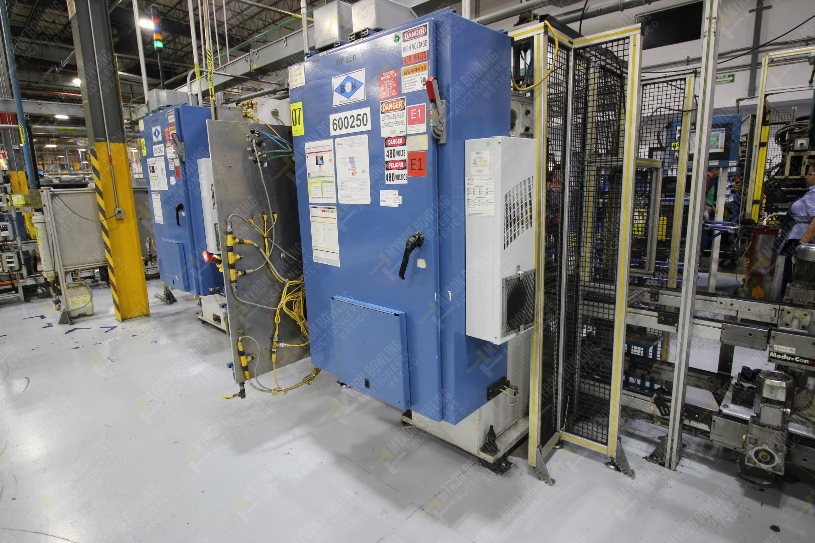 Estación semiautomática para operación 250 de ensamble de candado, contiene - Image 19 of 21