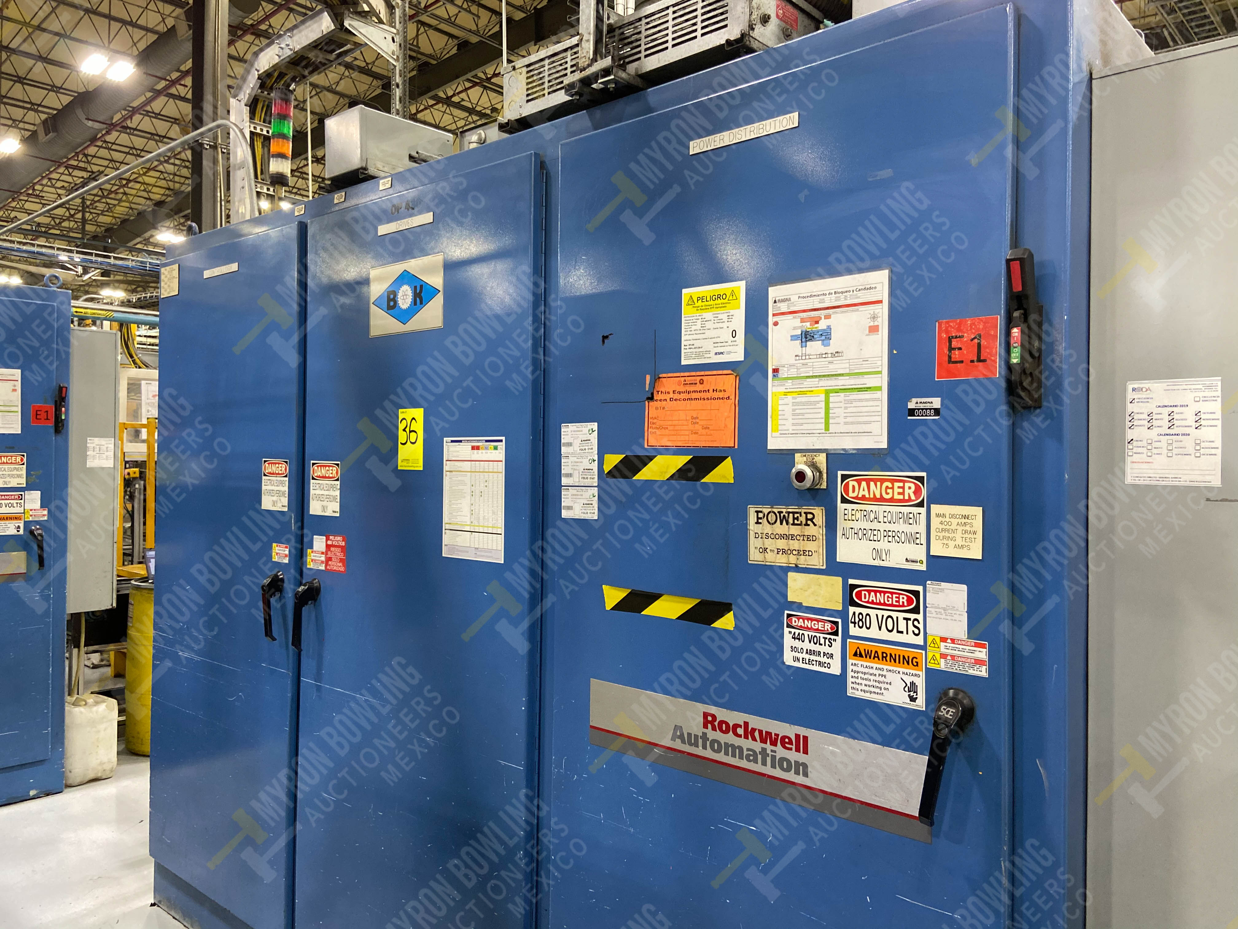 Estación semiautomática para operación 445, contiene: Máquina dinamómetro con sistema de revolución - Image 17 of 25