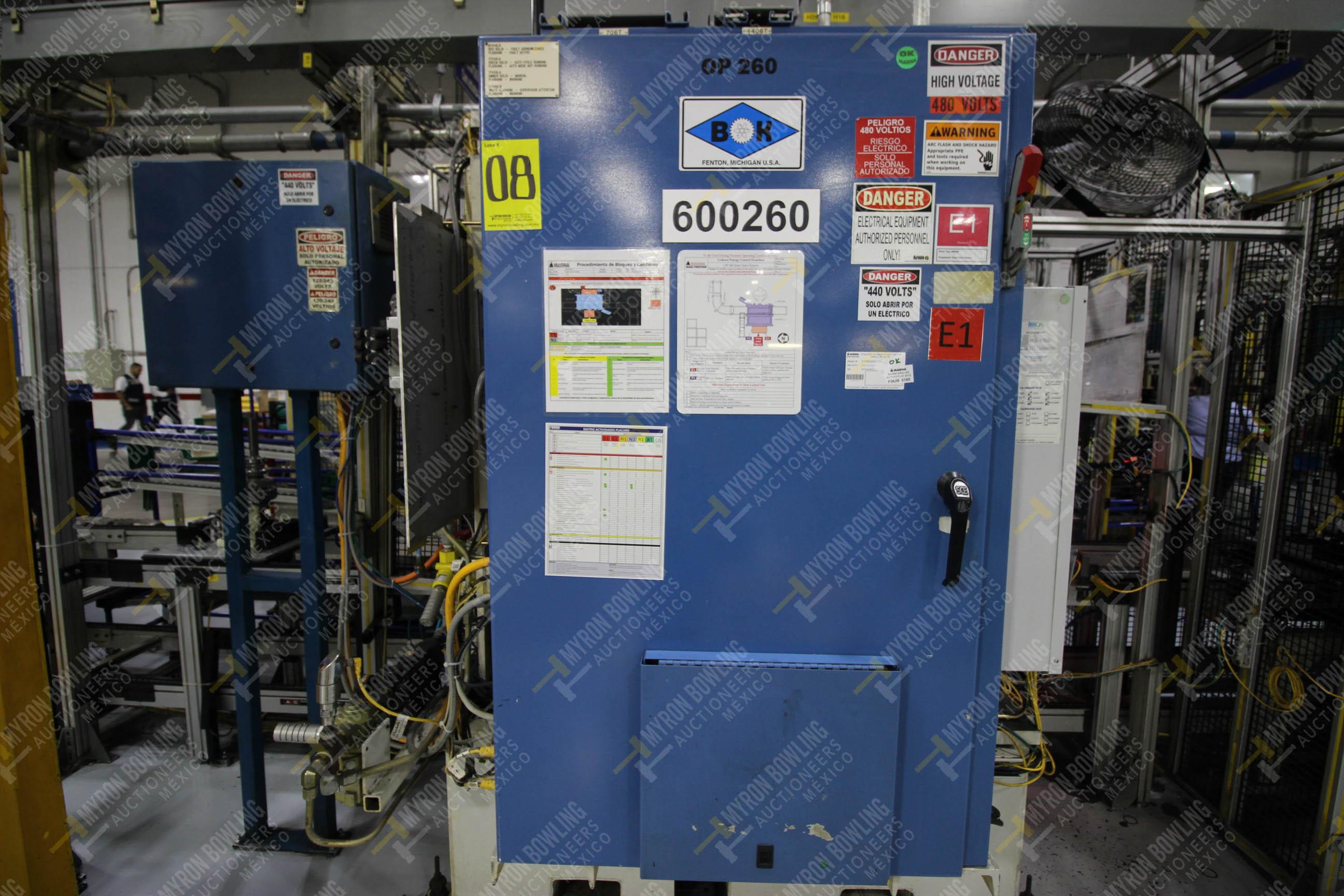 Estación semiautomática para operación 260 de ensamble - Image 17 of 20
