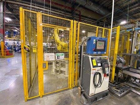 Robot con capacidad de carga de 50-100 Kg, controlador de robot y teach pendant - Image 13 of 22