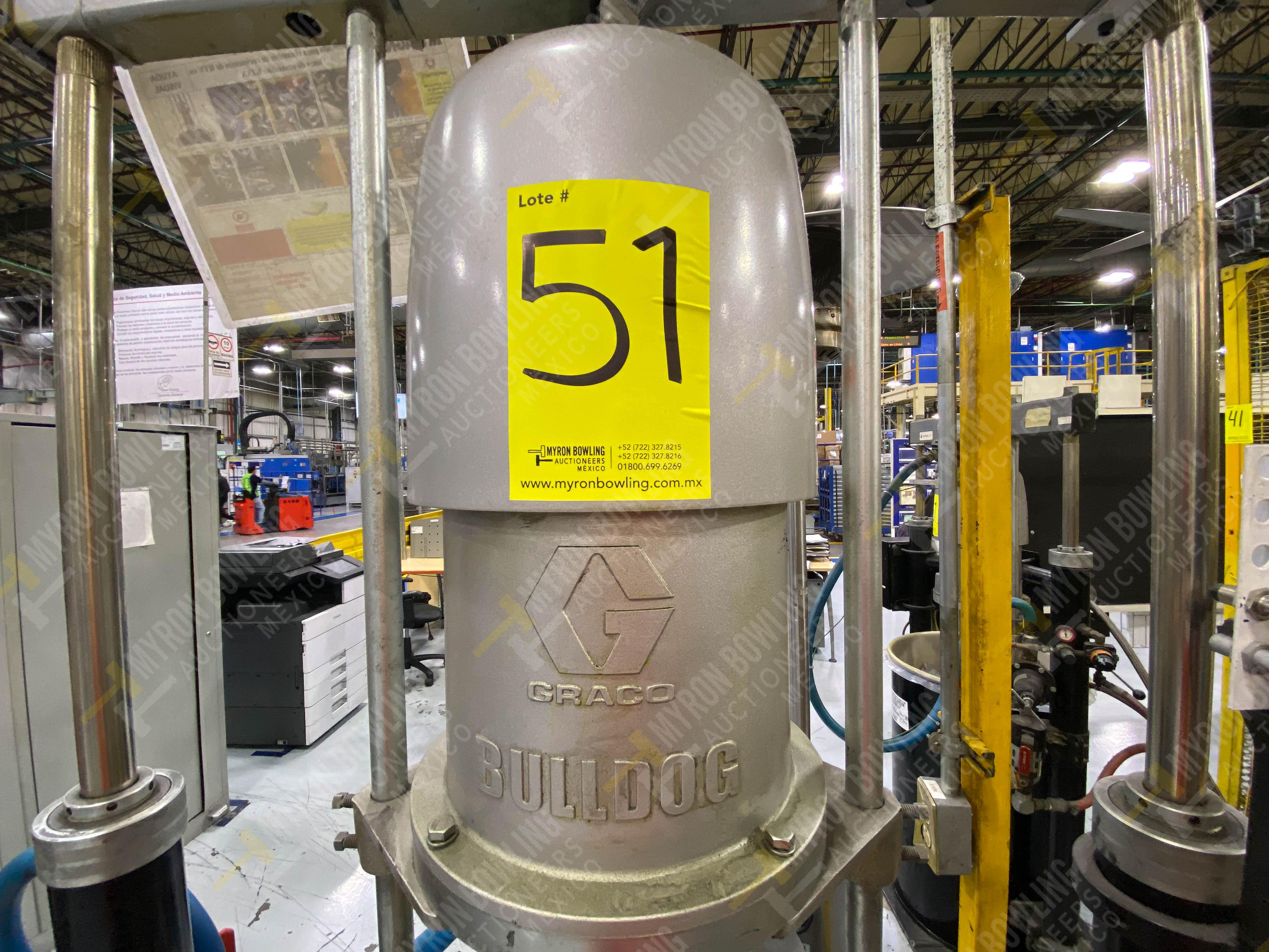 Dos sistemas de dispensador de sellador RTV (bombas) marca Graco Bulldog, 8.3 L/min max - Image 5 of 12