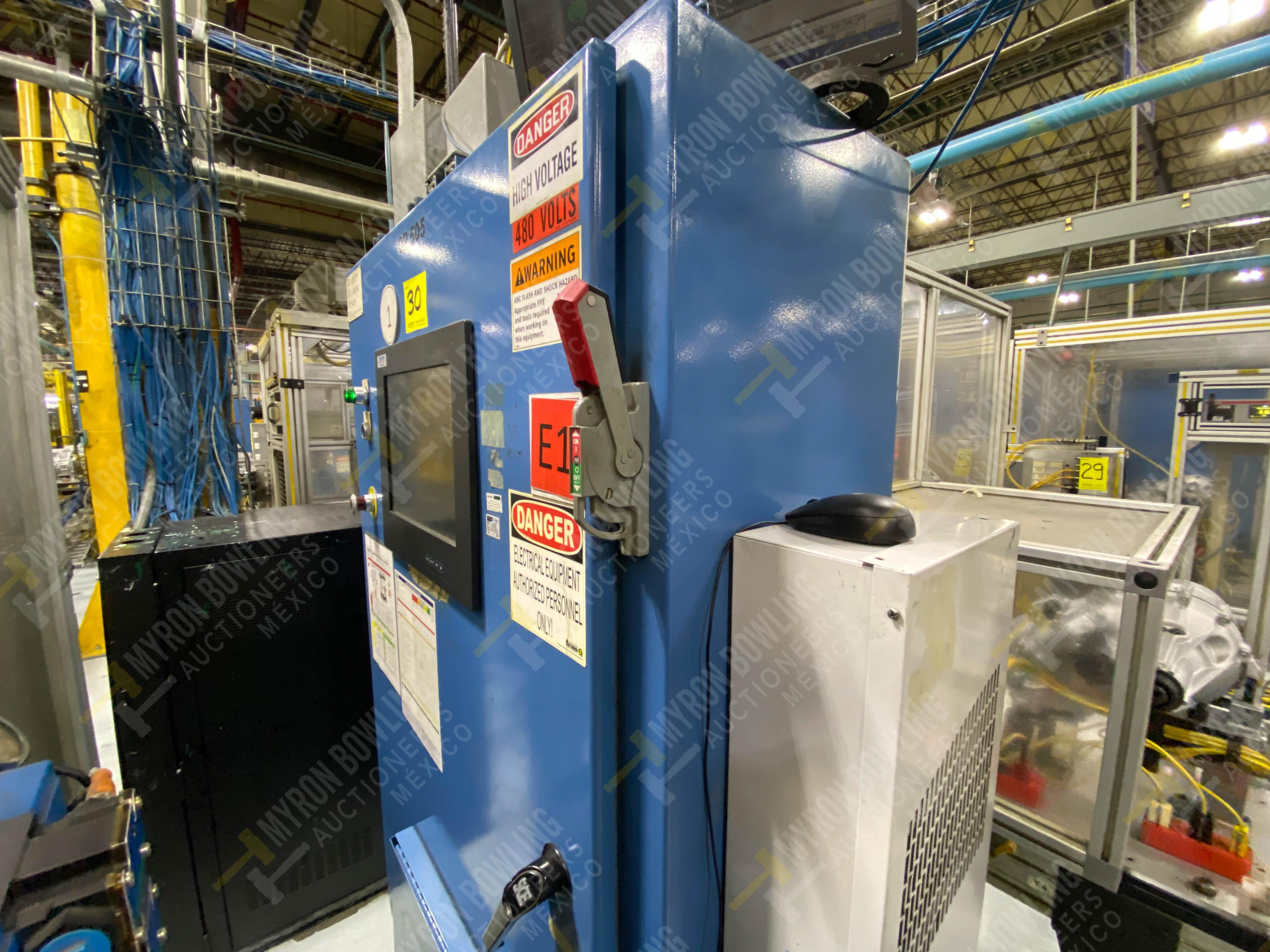 Estación semiautomática para operación 415, contiene: Máquina pesadora de piezas con 1 cilindro - Image 4 of 16
