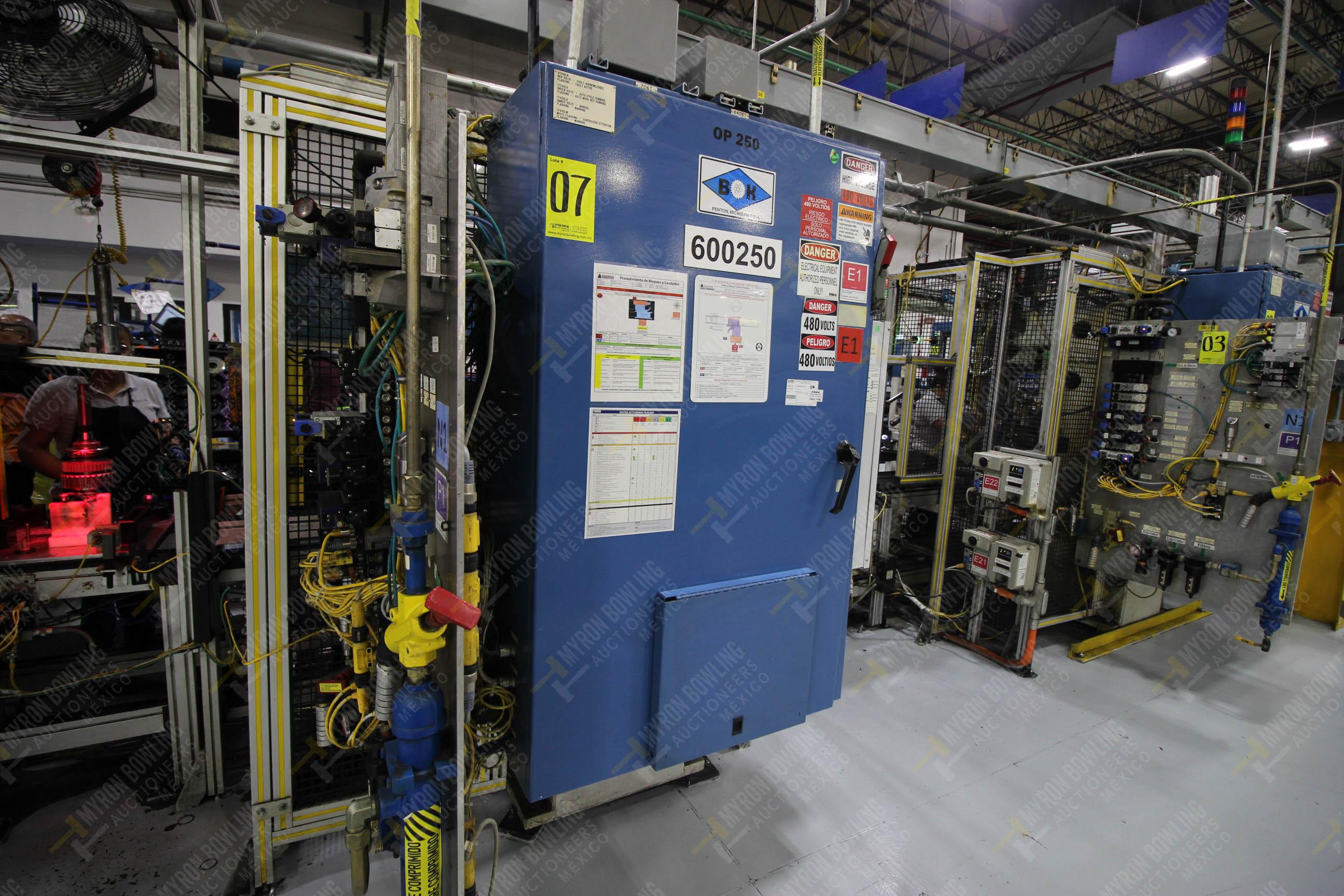 Estación semiautomática para operación 250 de ensamble de candado, contiene - Image 18 of 21