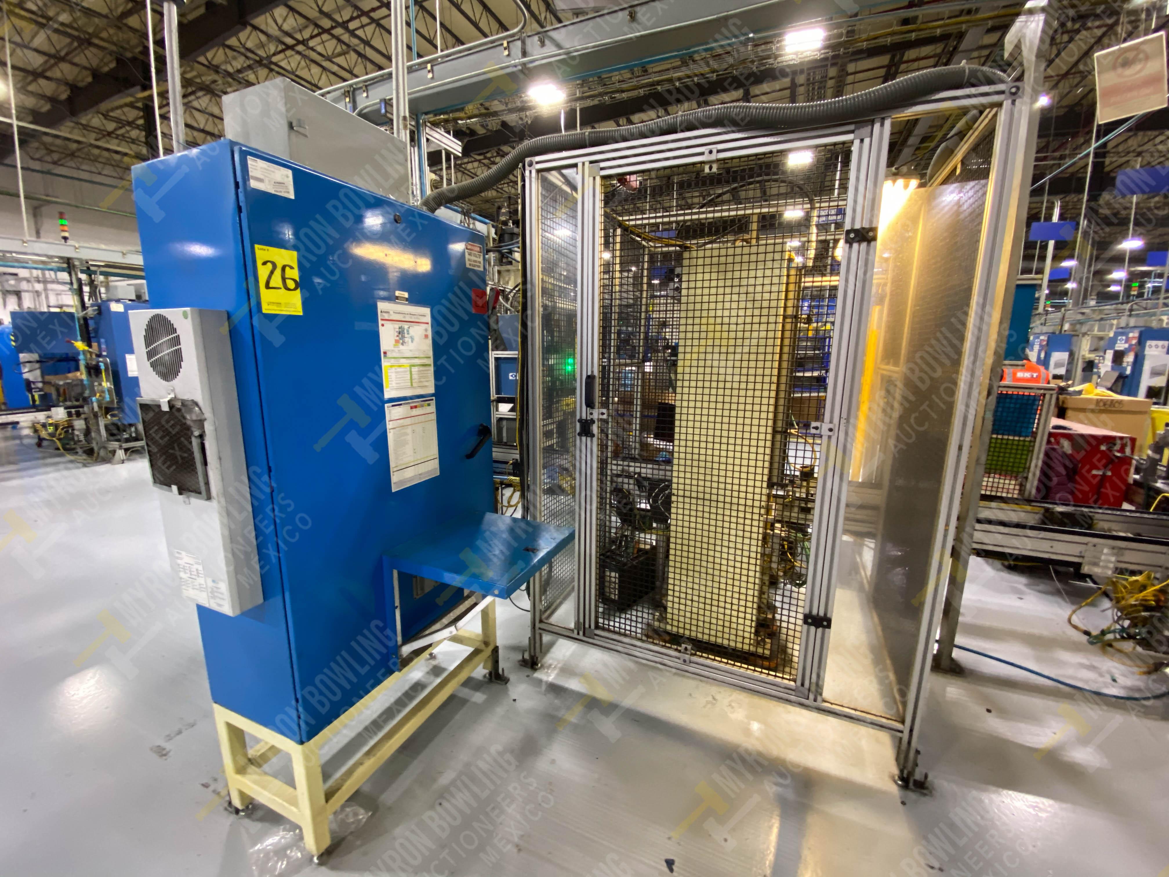 Estación manual para operación 383, contiene: Prensa marca PROMESS en estructura de placa de acero - Image 21 of 27