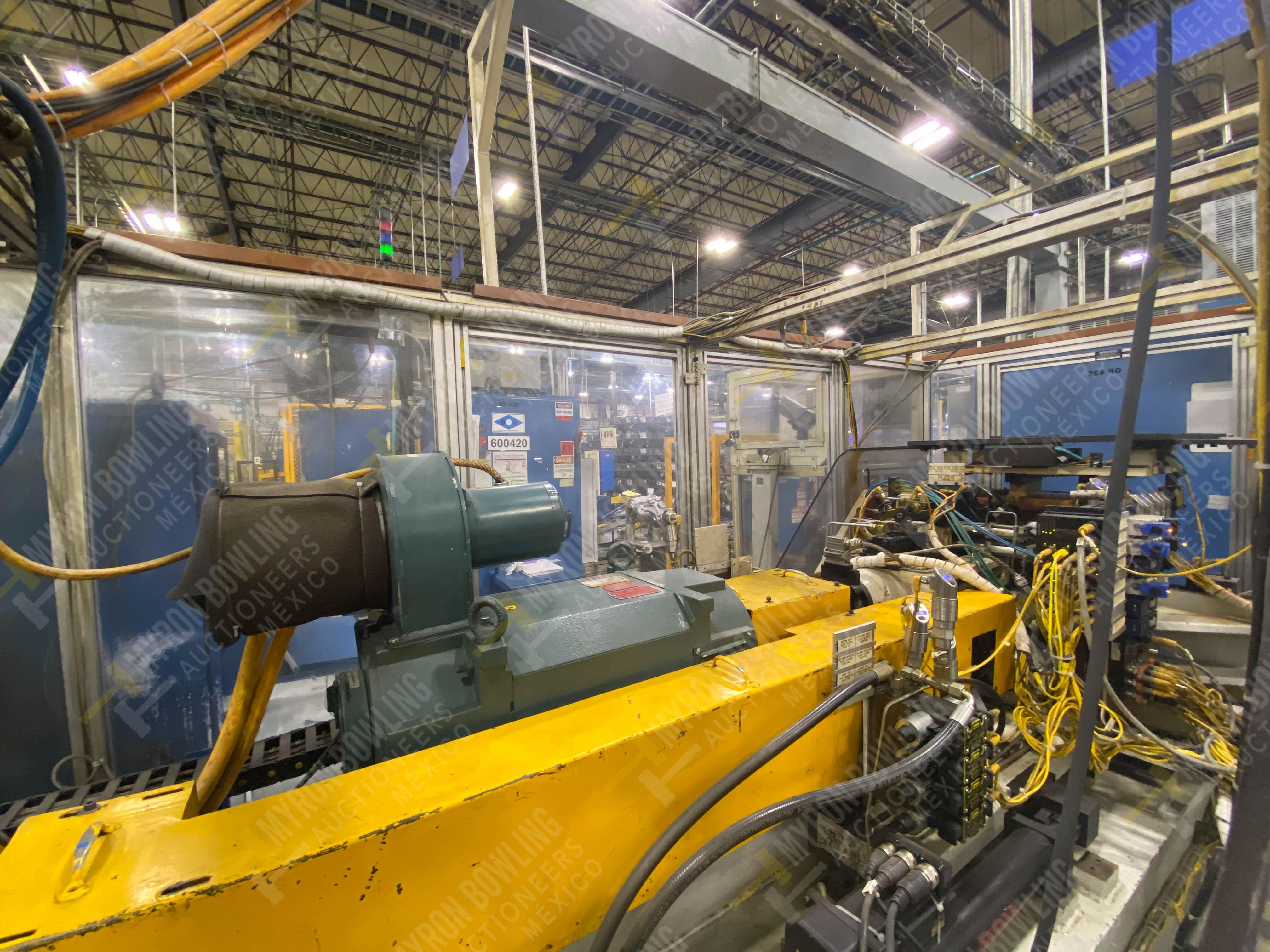 Estación semiautomática para operación 435, contiene: Máquina dinamómetro con sistema de revolución - Image 11 of 28
