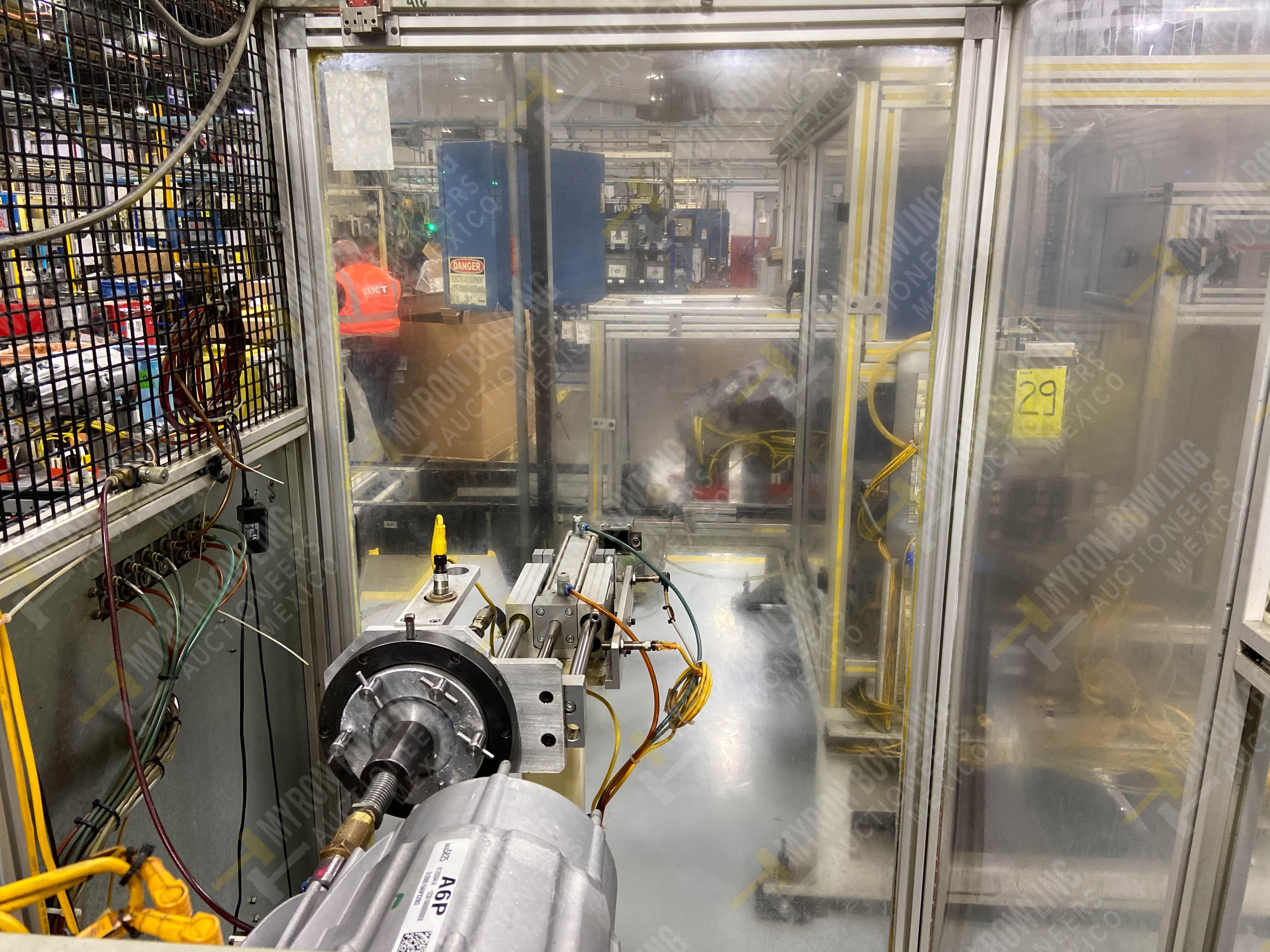 Estación semiautomática para operación 415, contiene: Máquina pesadora de piezas con 1 cilindro - Image 8 of 16