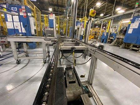 Conveyor de 350-380 mts lineales aproximadamente, con una altura de 0.60 x .55 metros