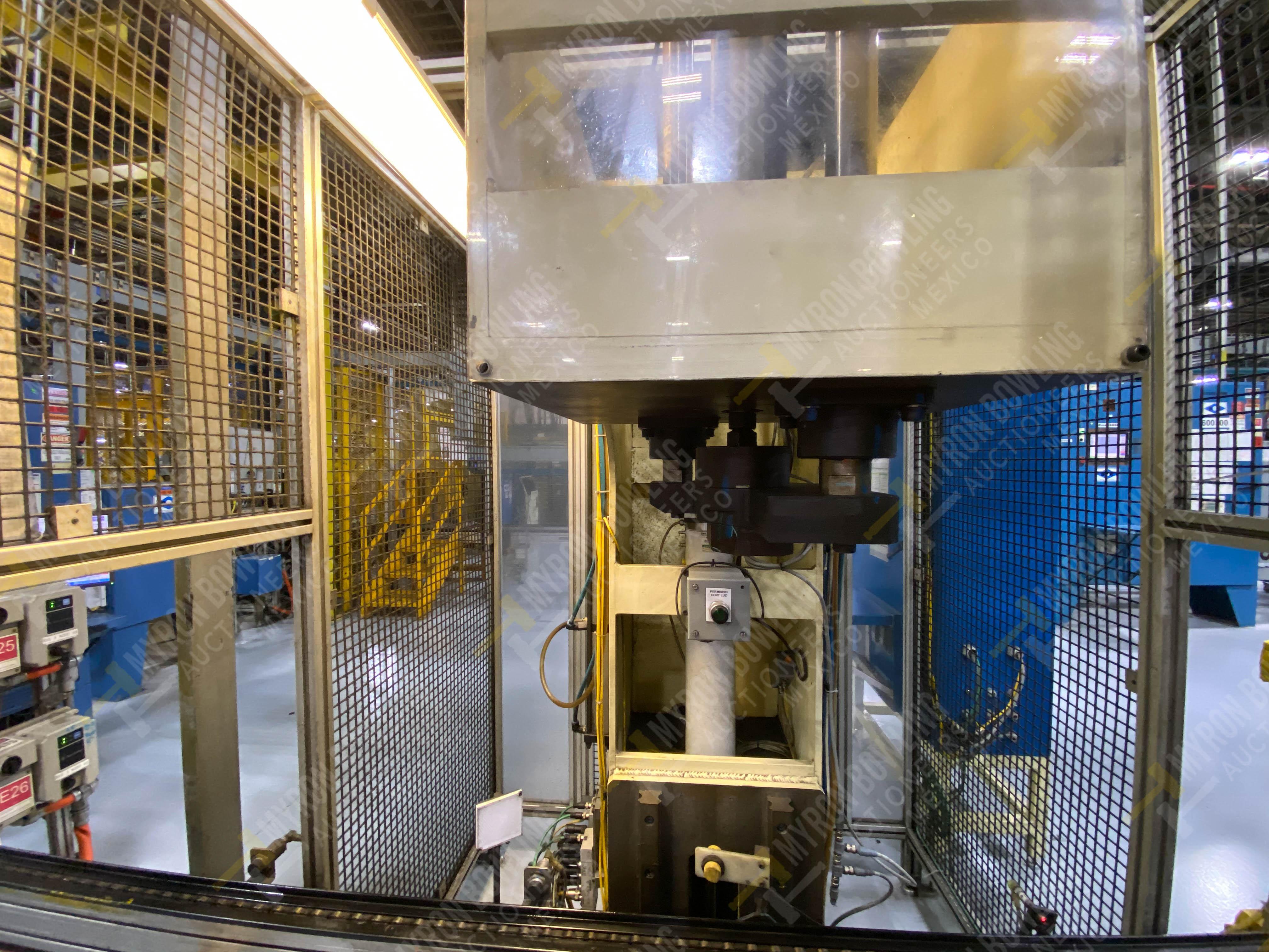Estación manual para operación 383, contiene: Prensa marca PROMESS en estructura de placa de acero - Image 11 of 27