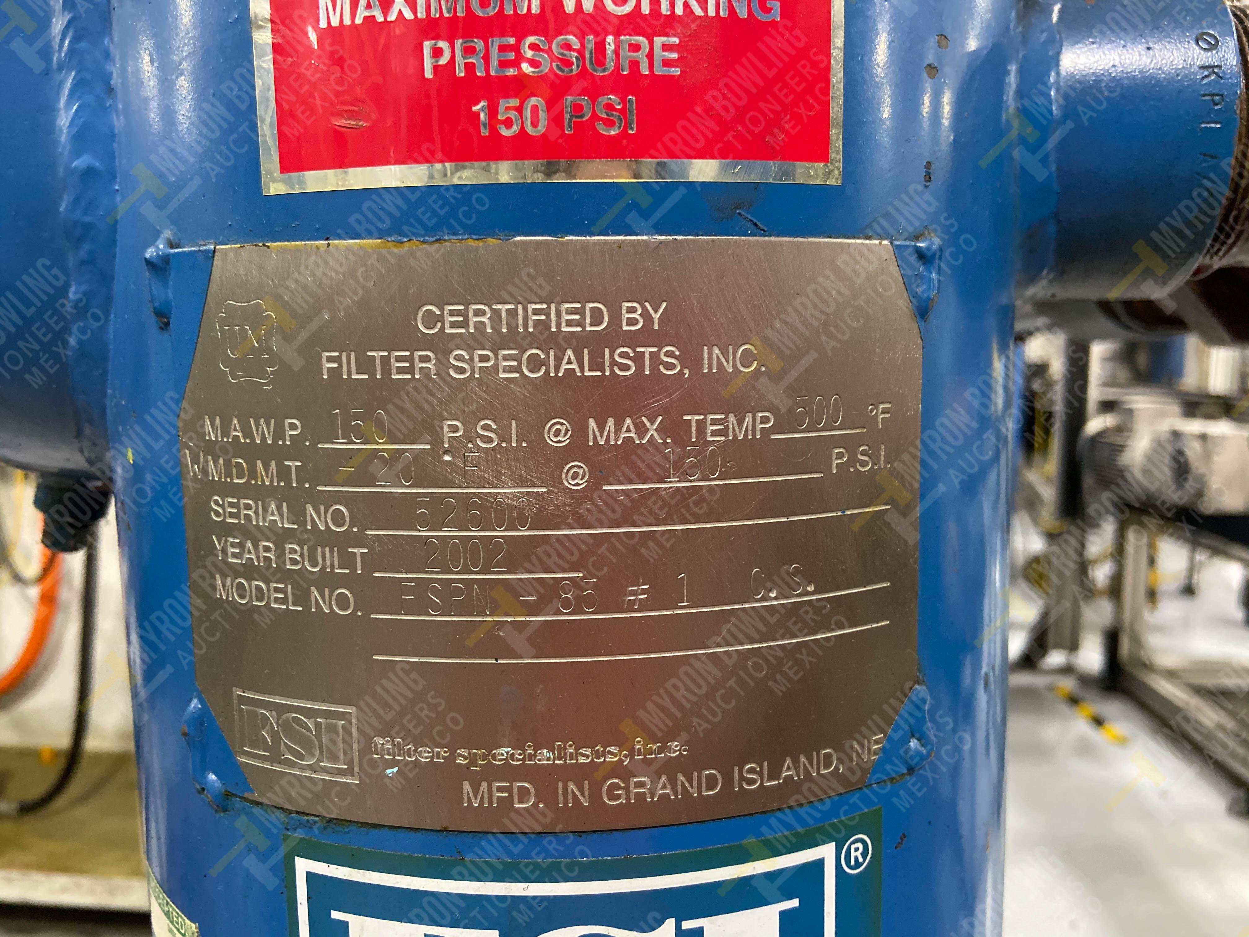 Bomba de aceite y filtros para el llenado de housings en lote 30 y 31. - Image 22 of 30