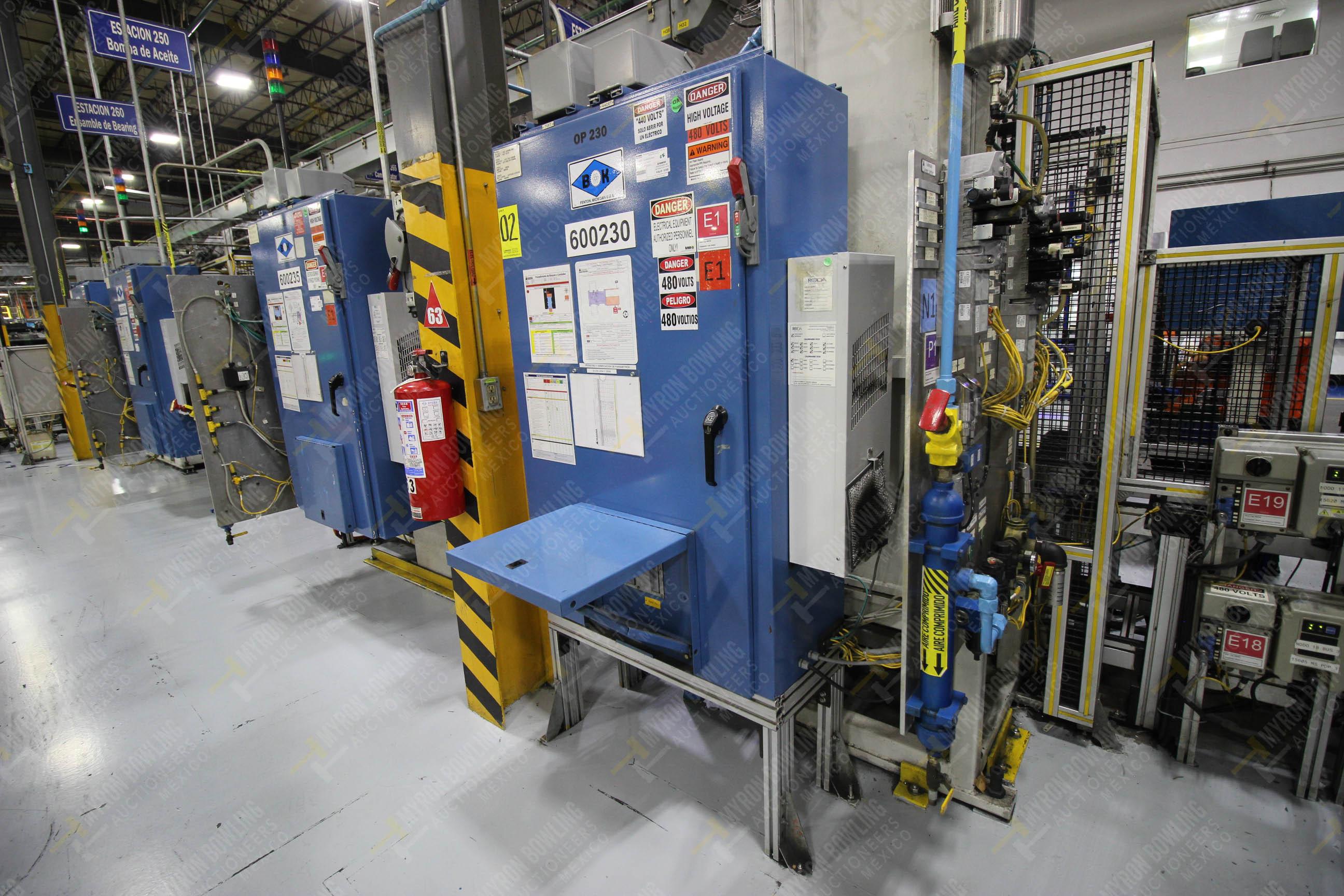 Estación automática para operación 230, para medición de gap - Image 28 of 36