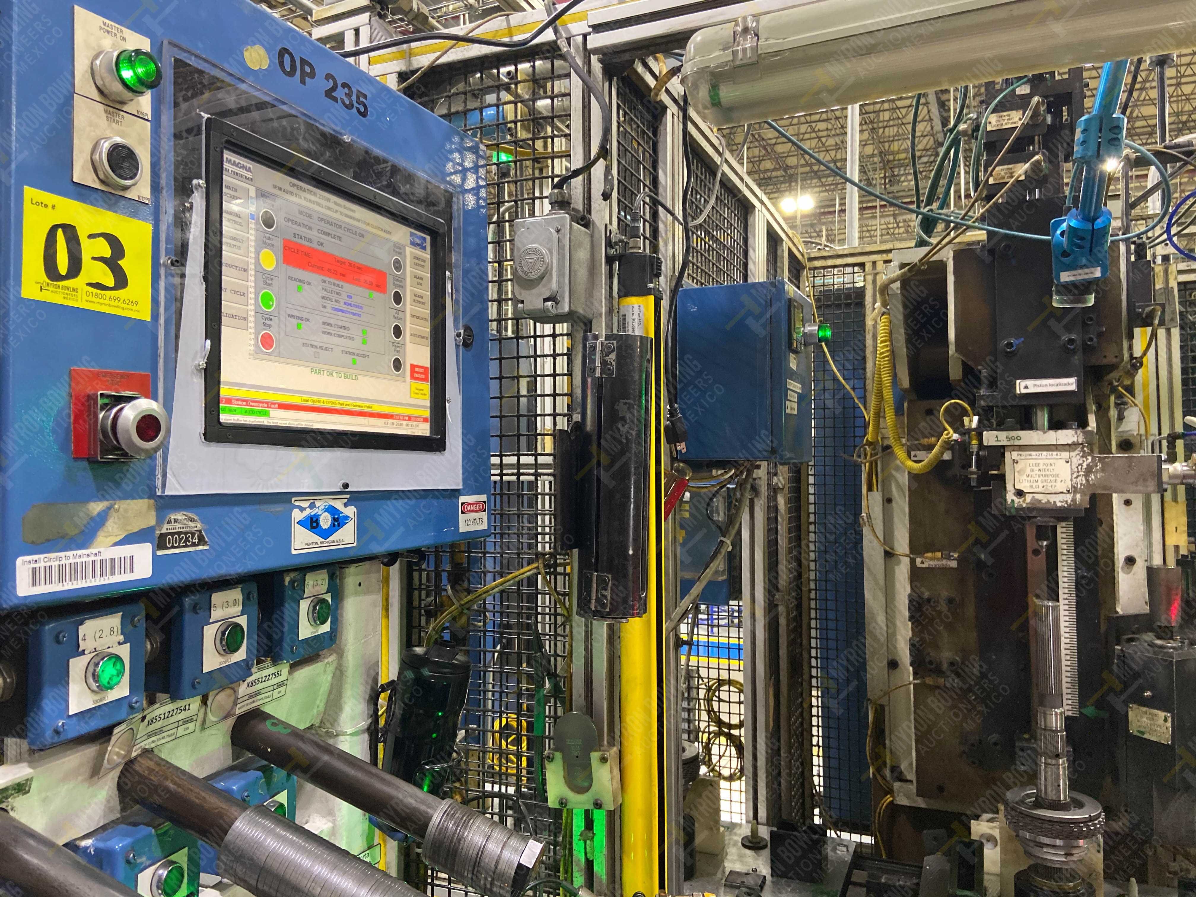 Estación semiautomáticapara operación 235 de ensamble de candado - Image 7 of 22