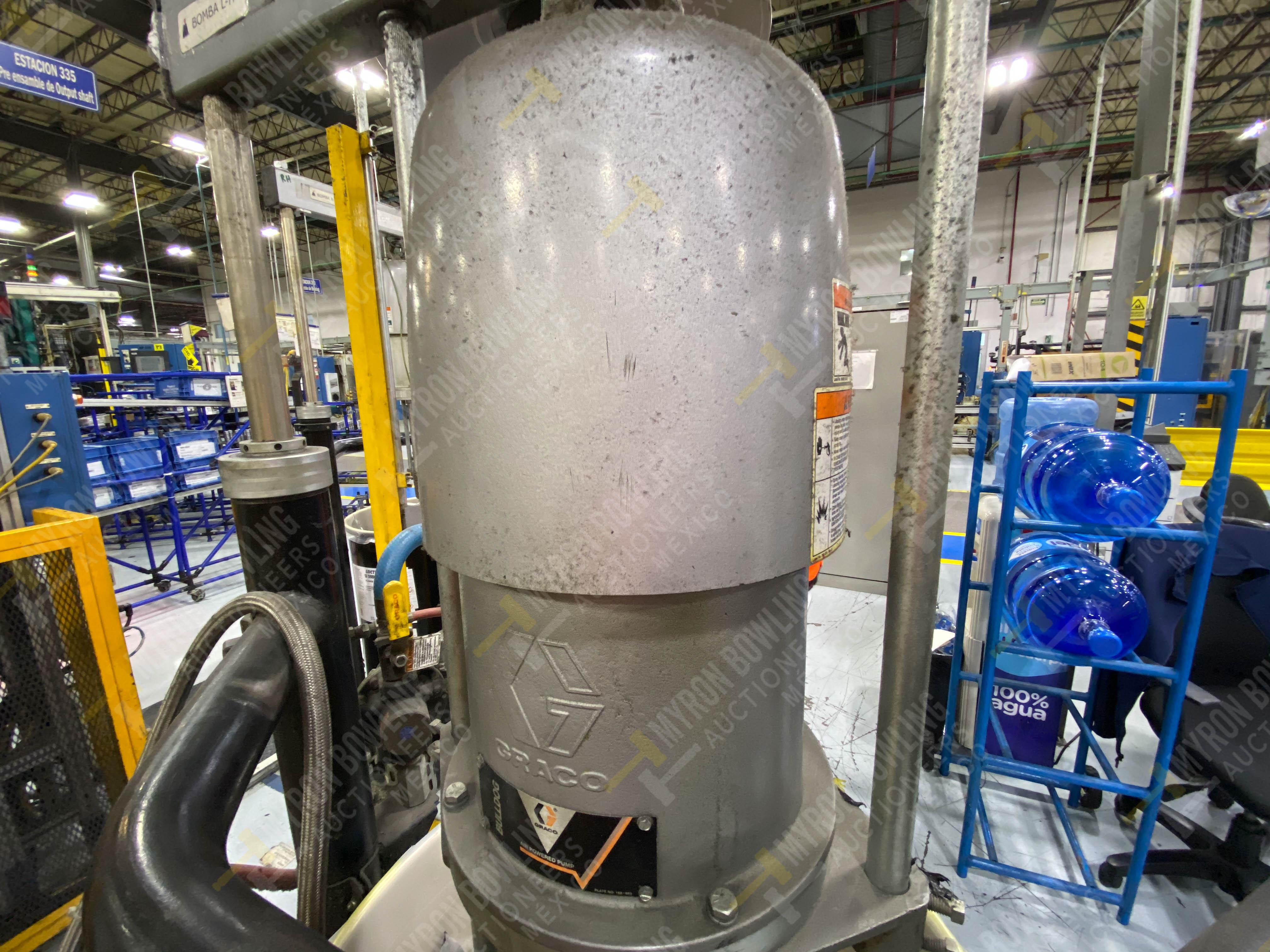 Dos sistemas de dispensador de sellador RTV (bombas) marca Graco Bulldog, 8.3 L/min max - Image 3 of 12