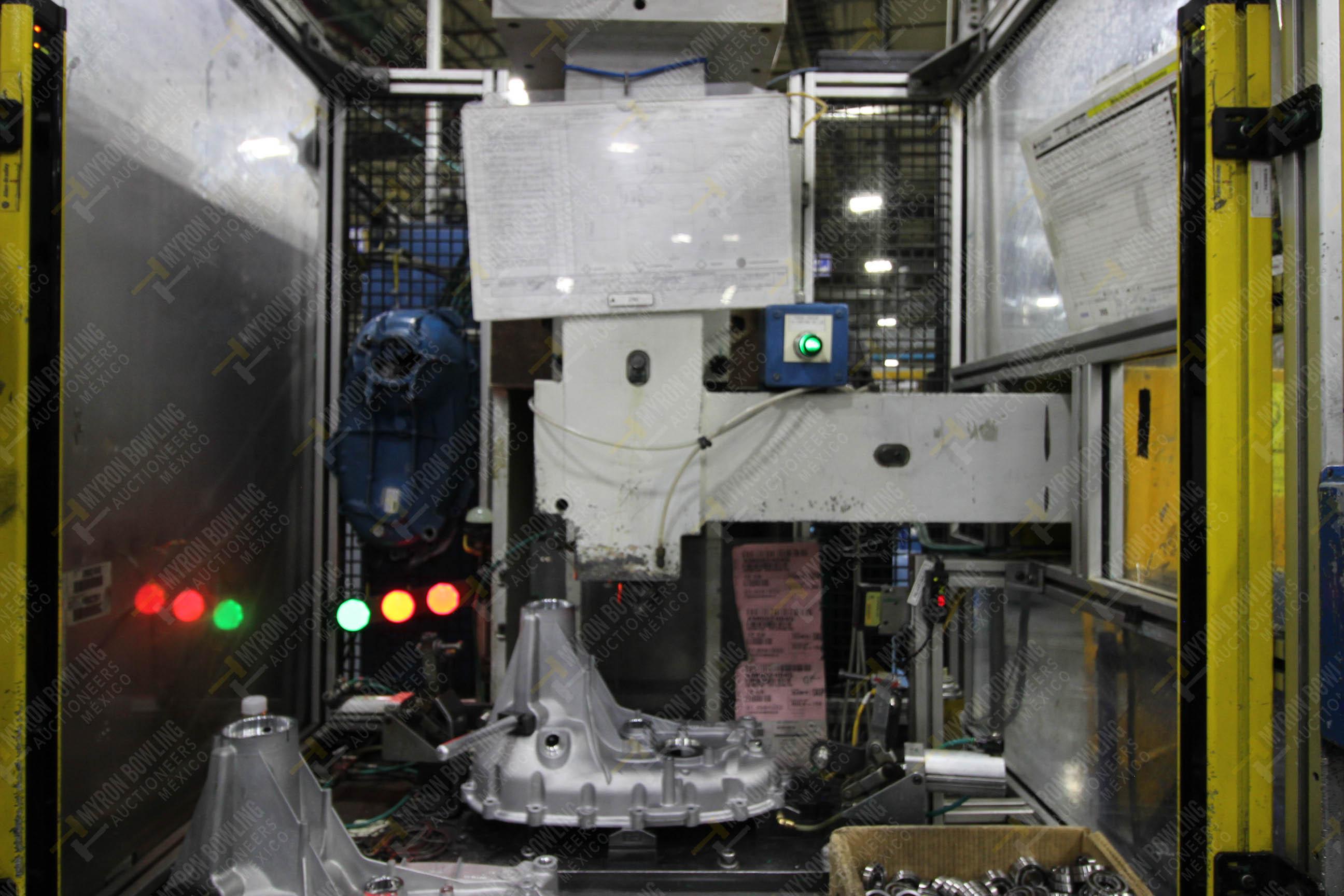 Estación semiautomática para operación 355A, contiene: Prensa en estructura de placa de acero - Image 11 of 36