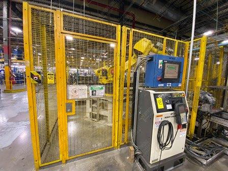 Robot con capacidad de carga de 50-100 Kg, controlador de robot y teach pendant - Image 10 of 22