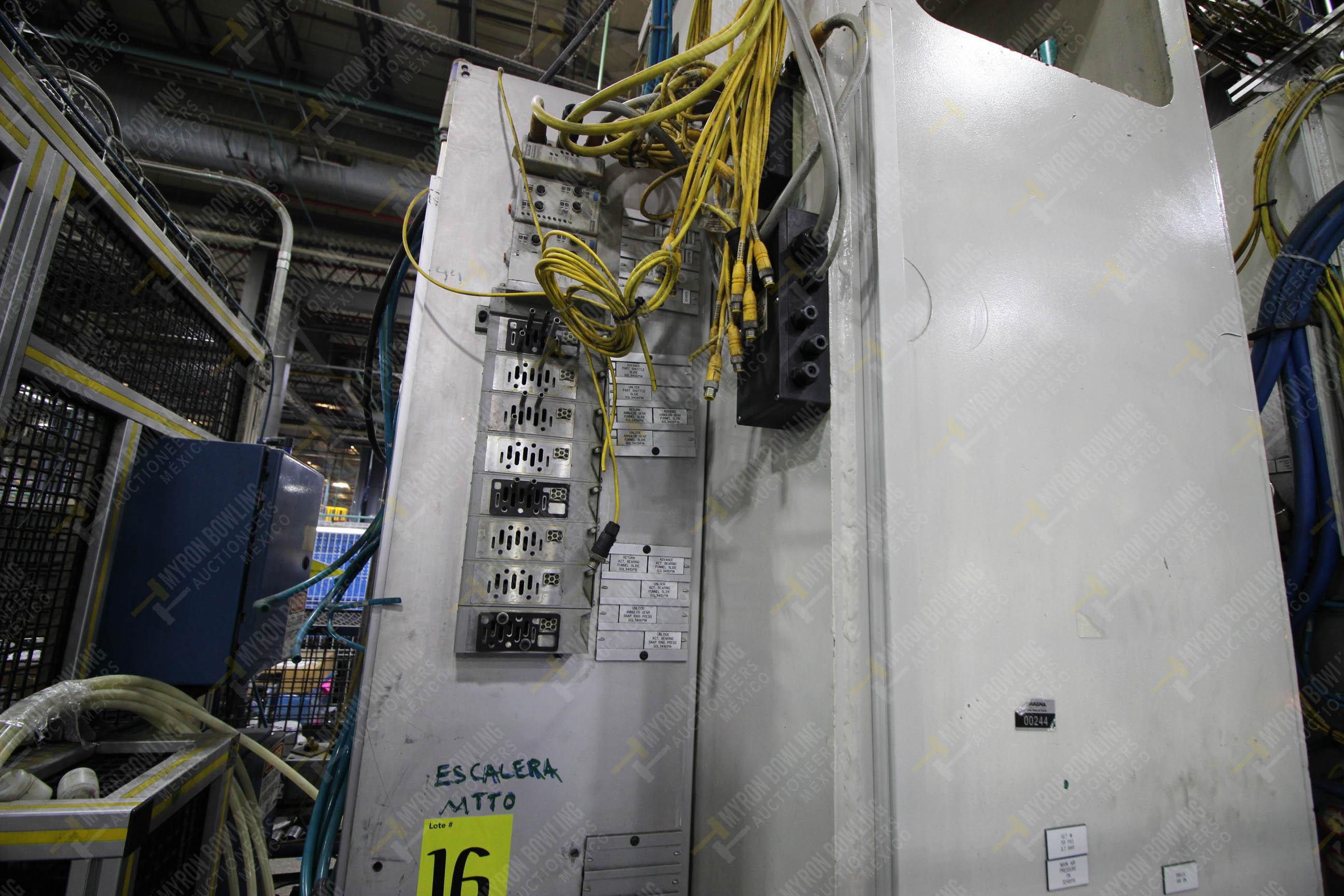 Estación semiautomática para operación 305D, contiene: Prensa tipo cuello de ganso con dos cilindros - Image 11 of 20