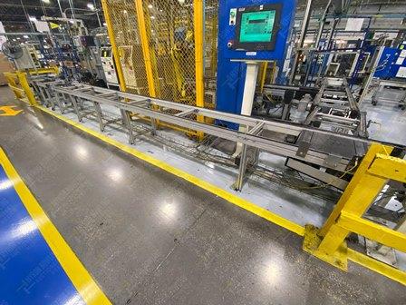 Conveyor de 350-380 mts lineales aproximadamente, con una altura de 0.60 x .55 metros - Image 9 of 12