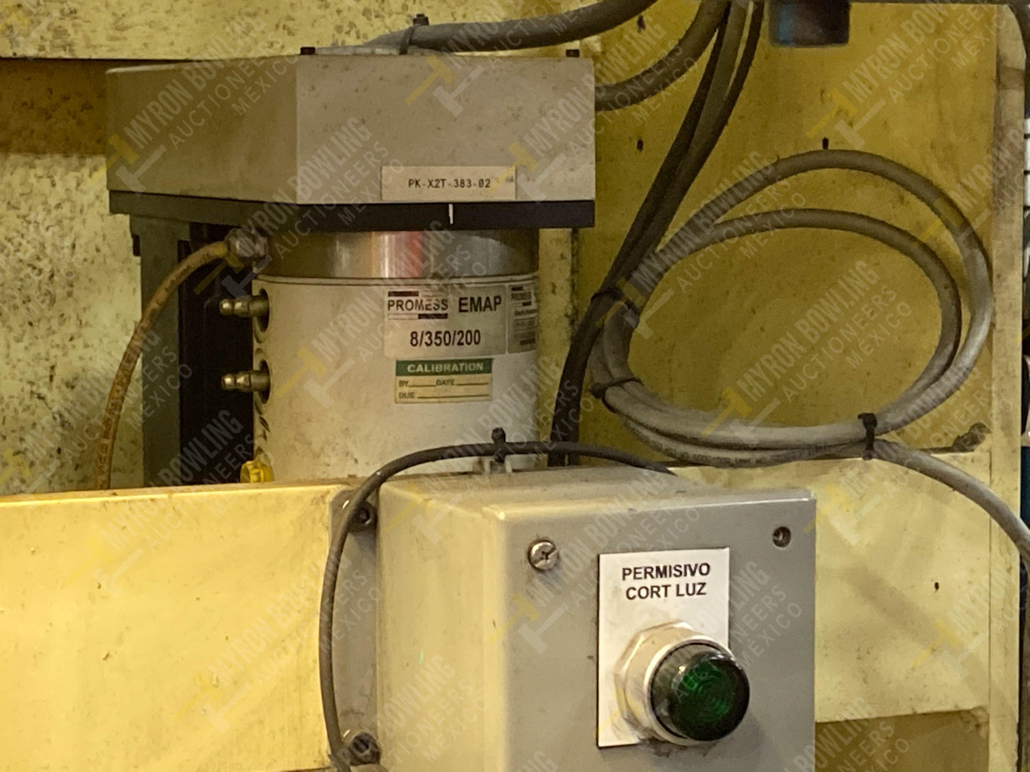 Estación manual para operación 383, contiene: Prensa marca PROMESS en estructura de placa de acero - Image 20 of 27