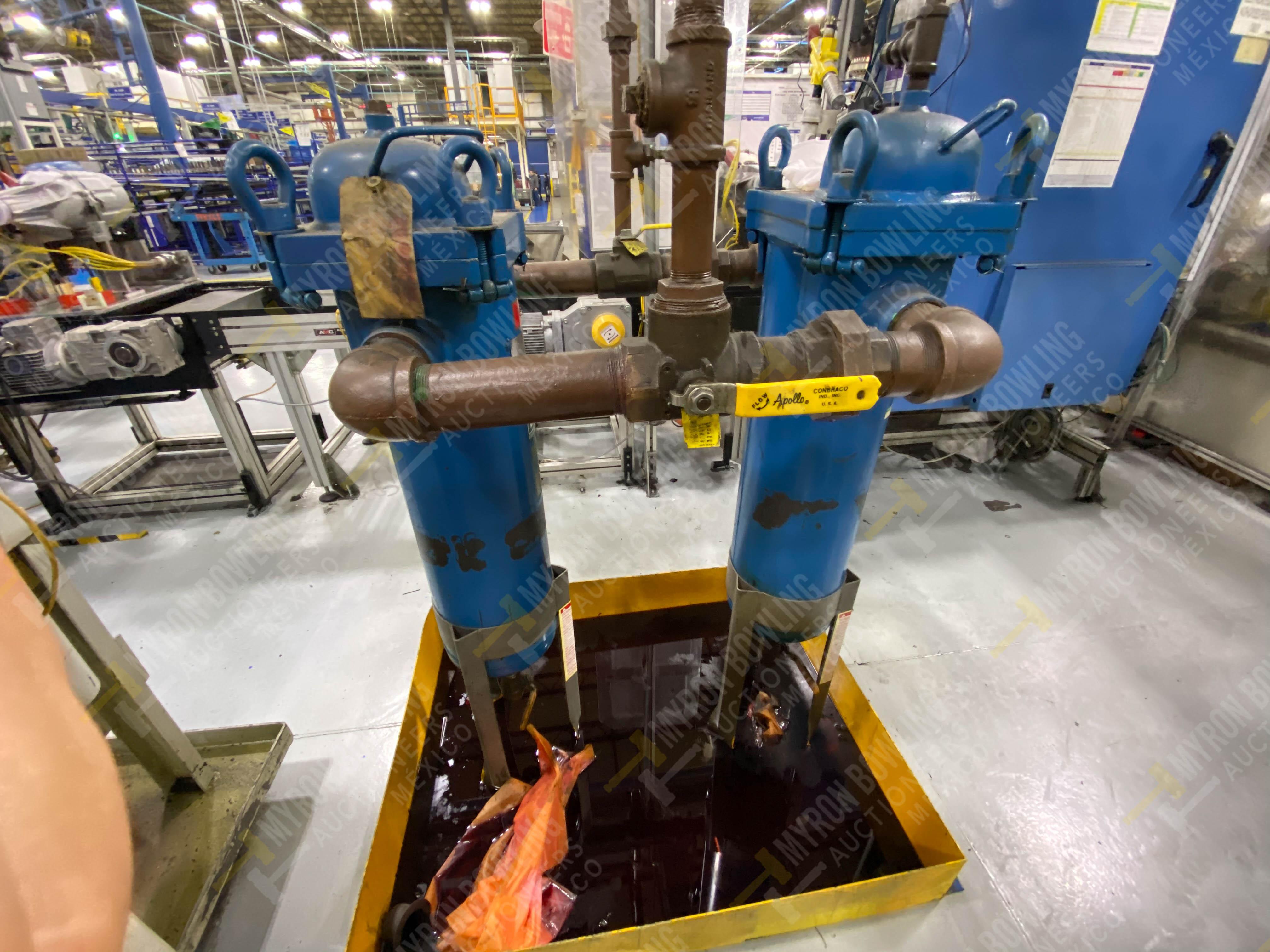 Bomba de aceite y filtros para el llenado de housings en lote 30 y 31. - Image 6 of 30