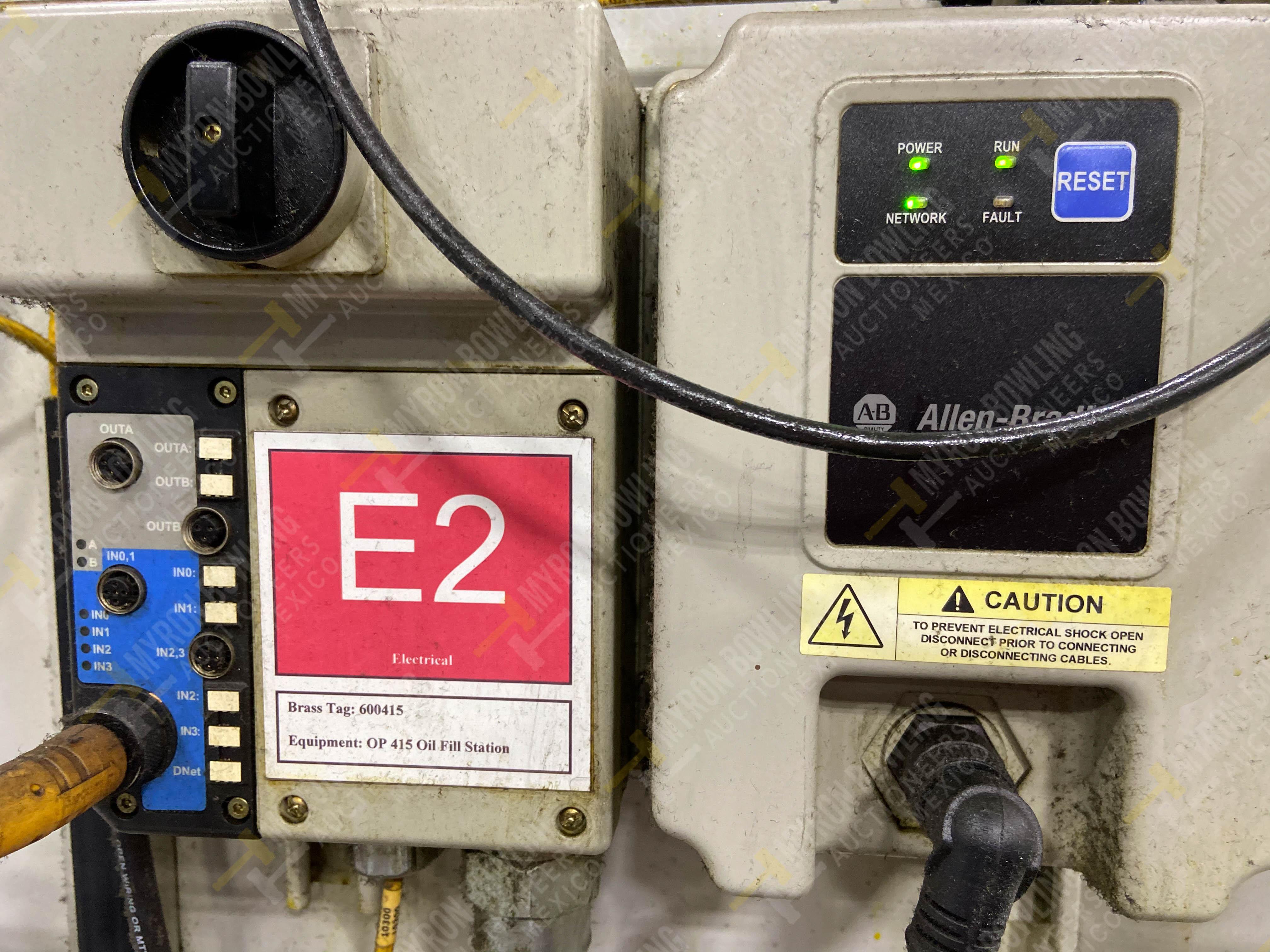 Bomba de aceite y filtros para el llenado de housings en lote 30 y 31. - Image 16 of 30