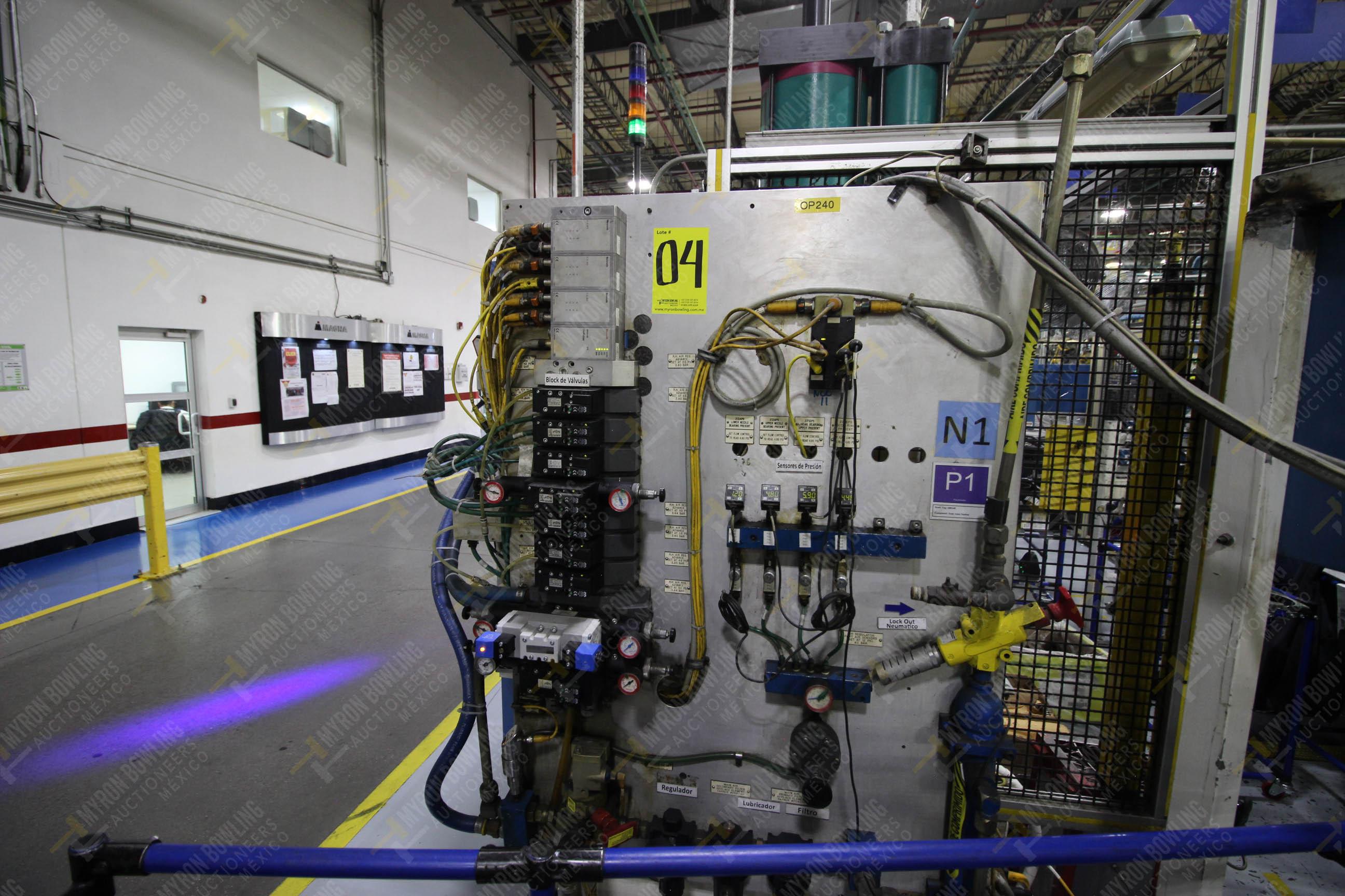 Estación semiautomática para operación 240A de ensamble de balero - Image 10 of 29