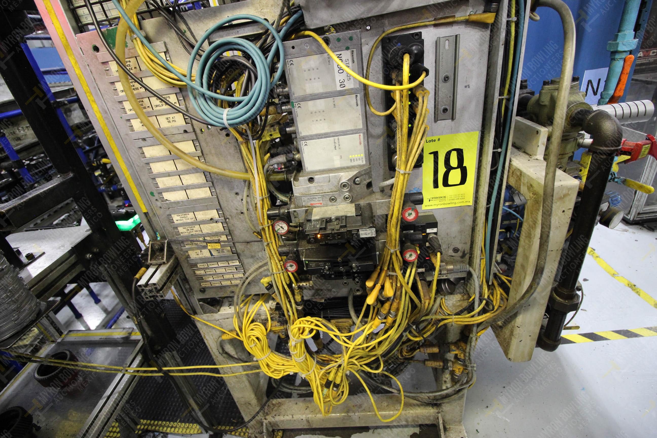 Estación semiautomática para operación 325, contiene: Prensa con dos cilindros marca TOX - Image 14 of 24