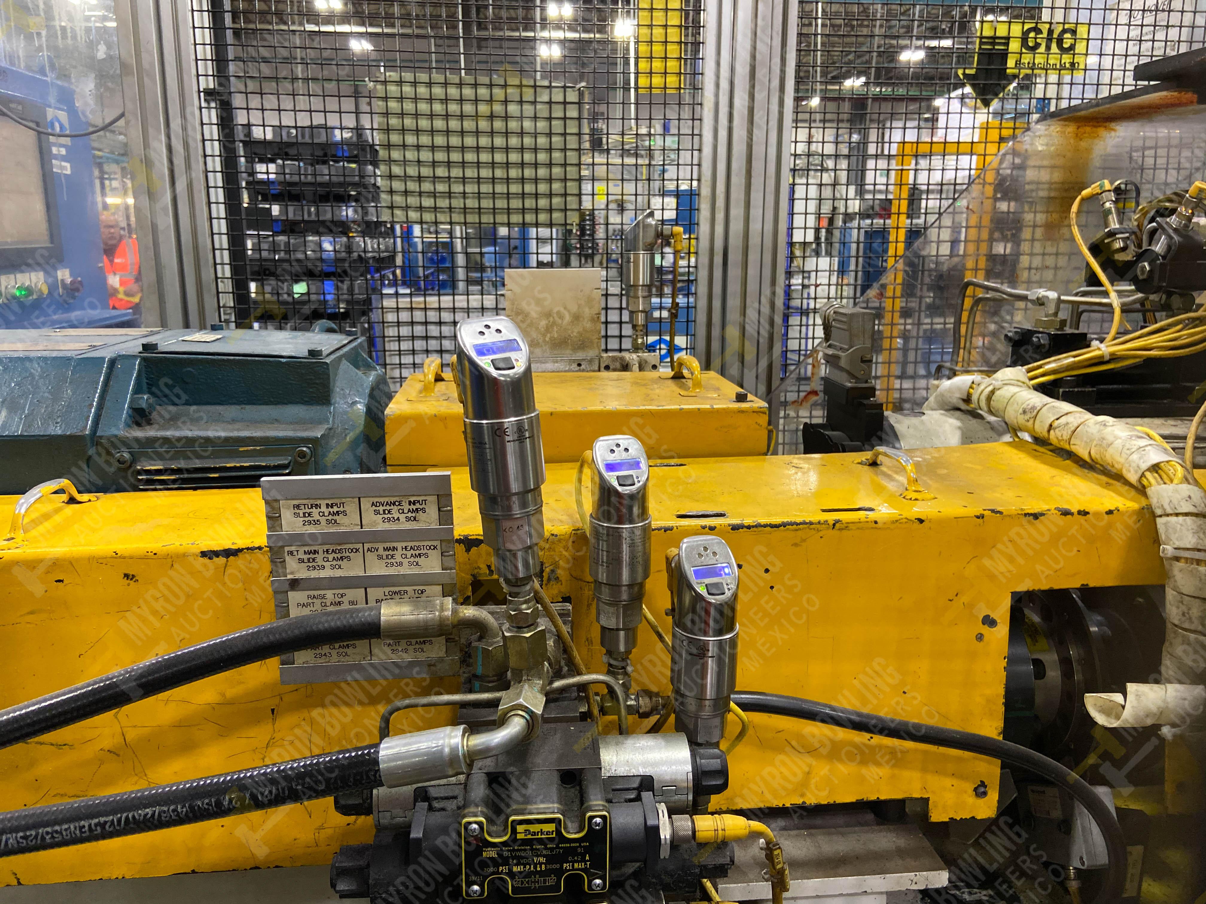 Estación semiautomática para operación 430, contiene: Máquina dinamómetro con sistema de revolución - Image 22 of 32