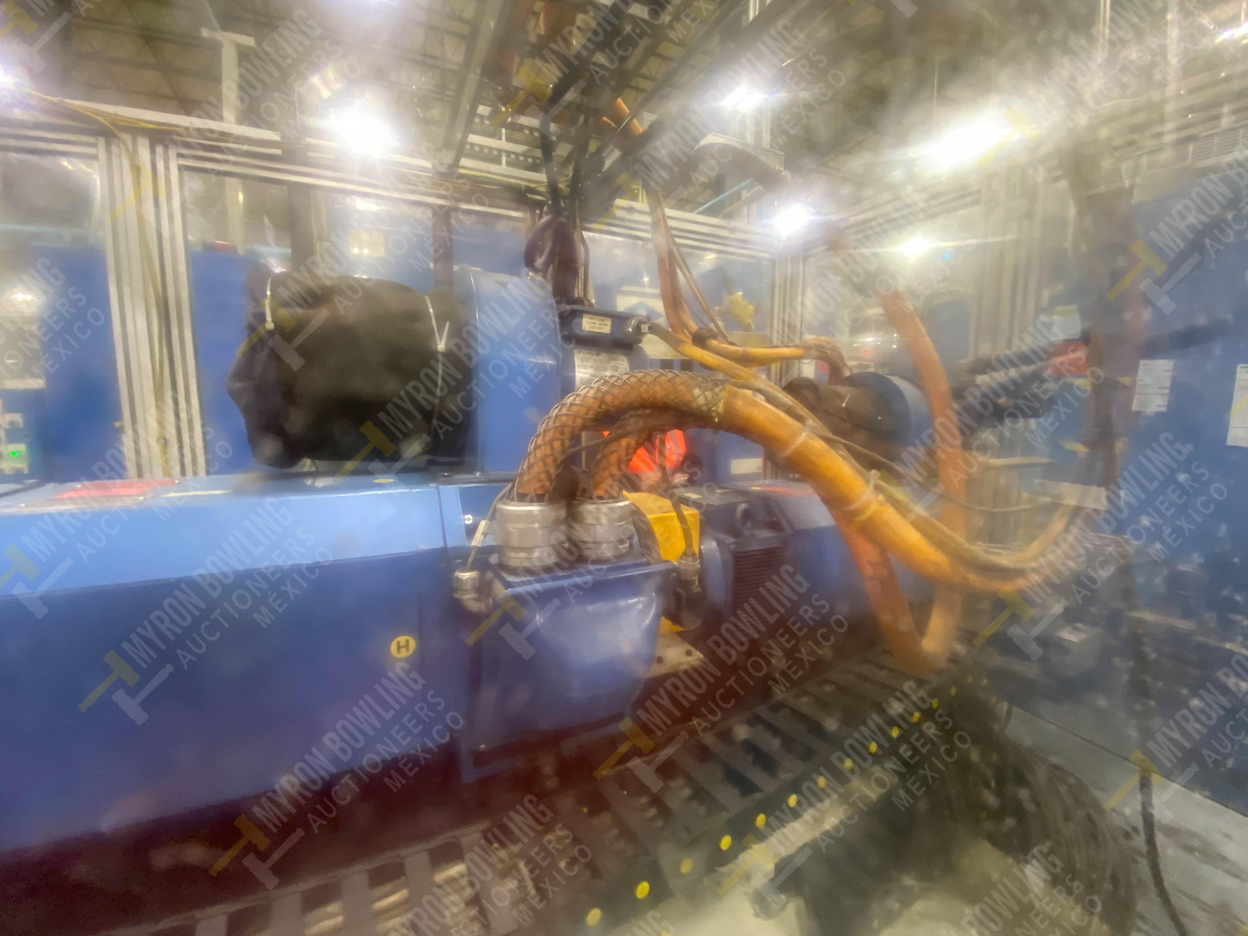 Estación semiautomática para operación 445, contiene: Máquina dinamómetro con sistema de revolución - Image 11 of 25