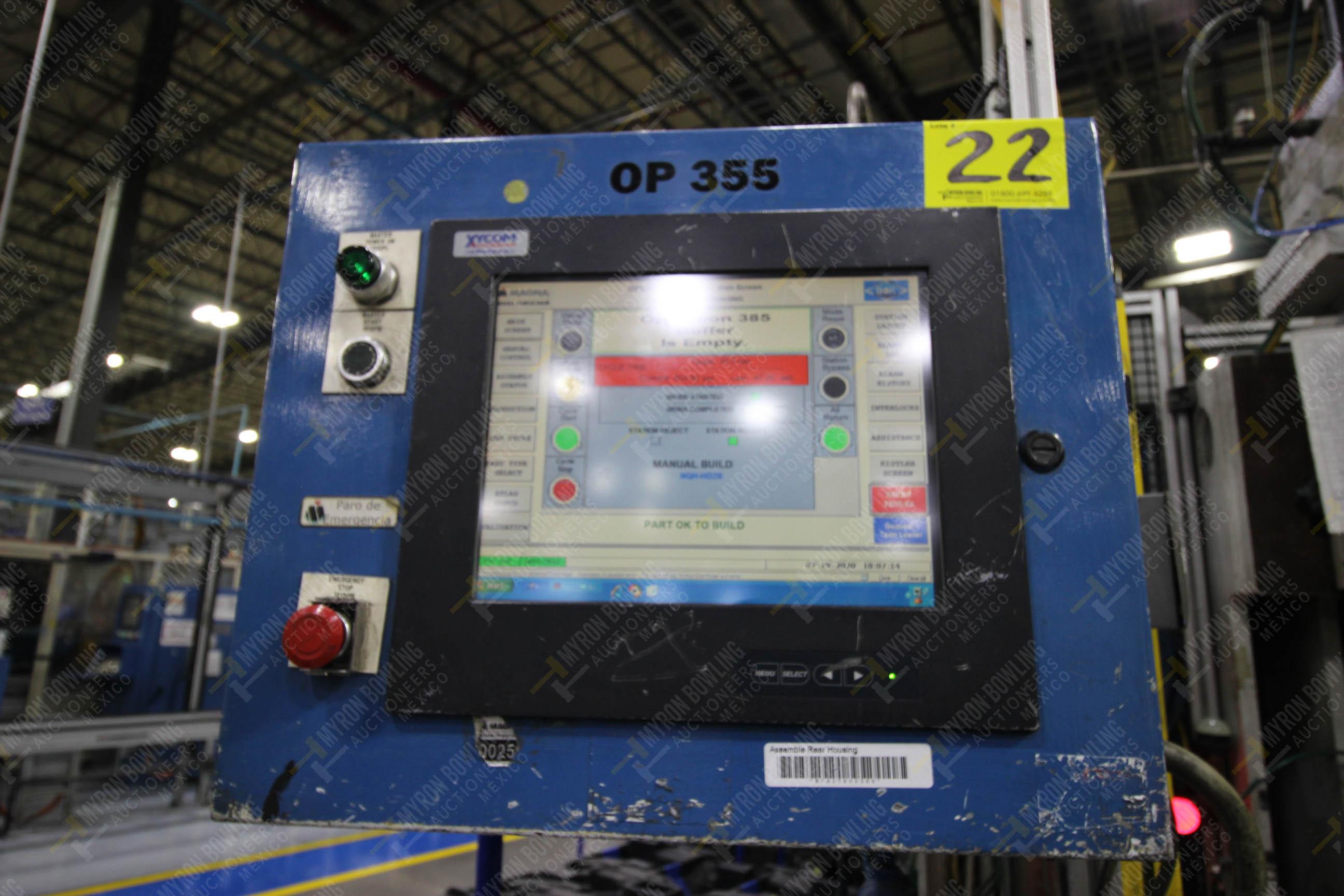 Estación semiautomática para operación 355A, contiene: Prensa en estructura de placa de acero - Image 31 of 36