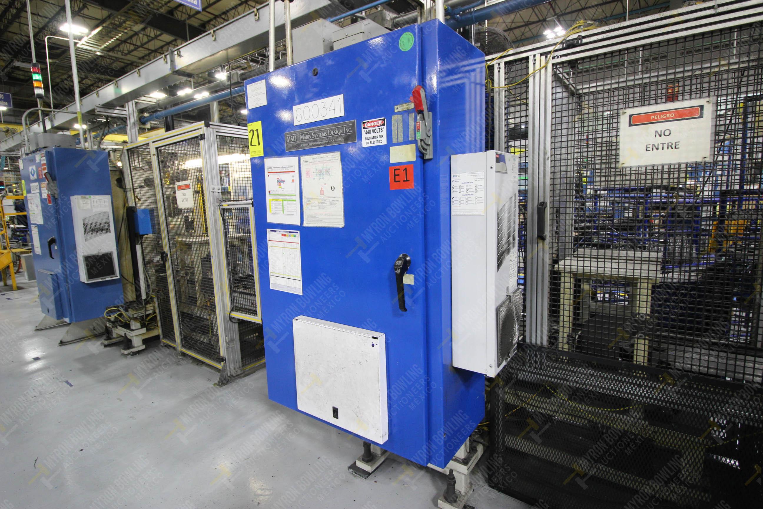 Estación semiautomática para operación 341, contiene: Prensa en estructura de placa de acero - Image 20 of 26