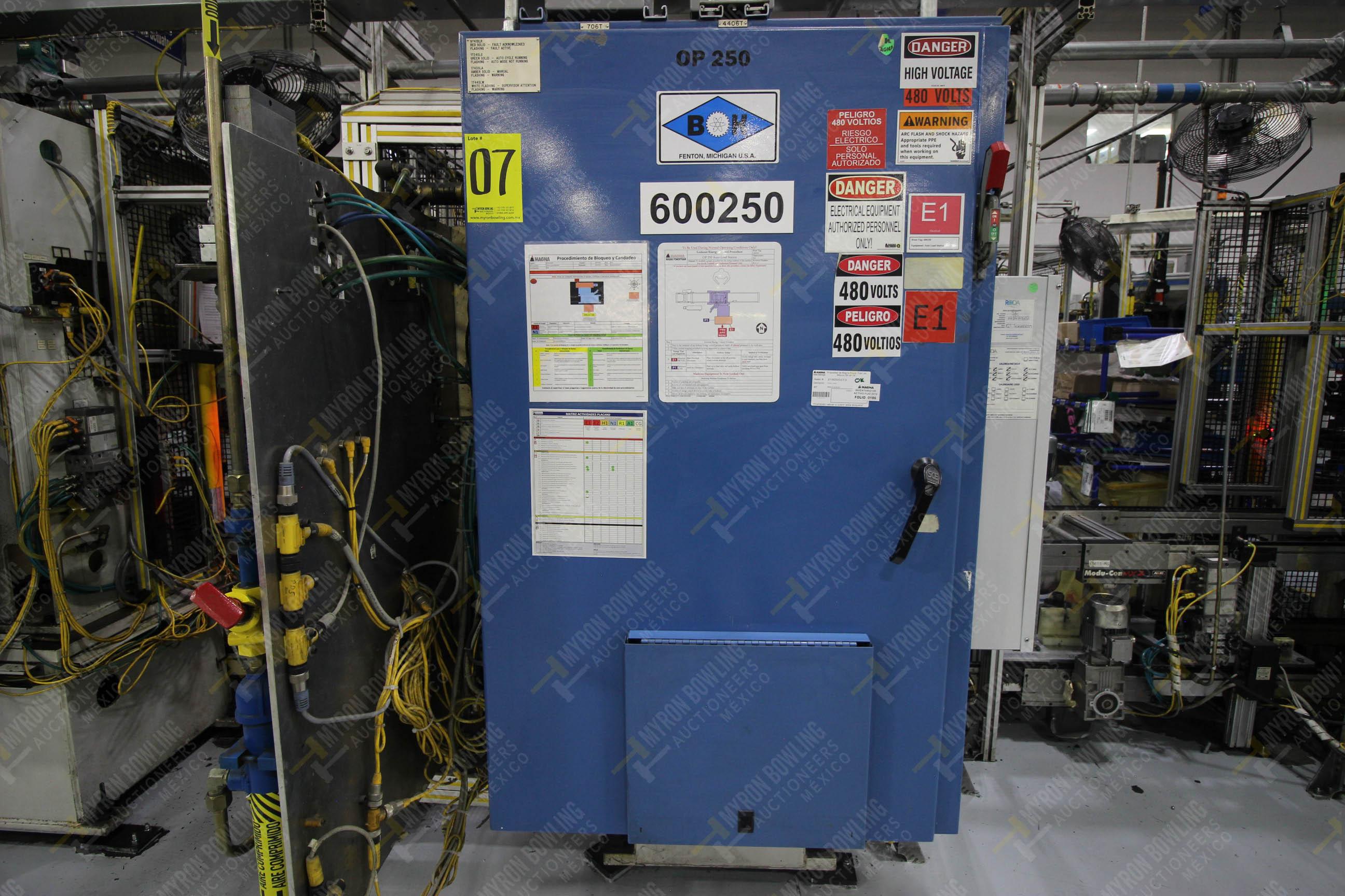 Estación semiautomática para operación 250 de ensamble de candado, contiene - Image 16 of 21