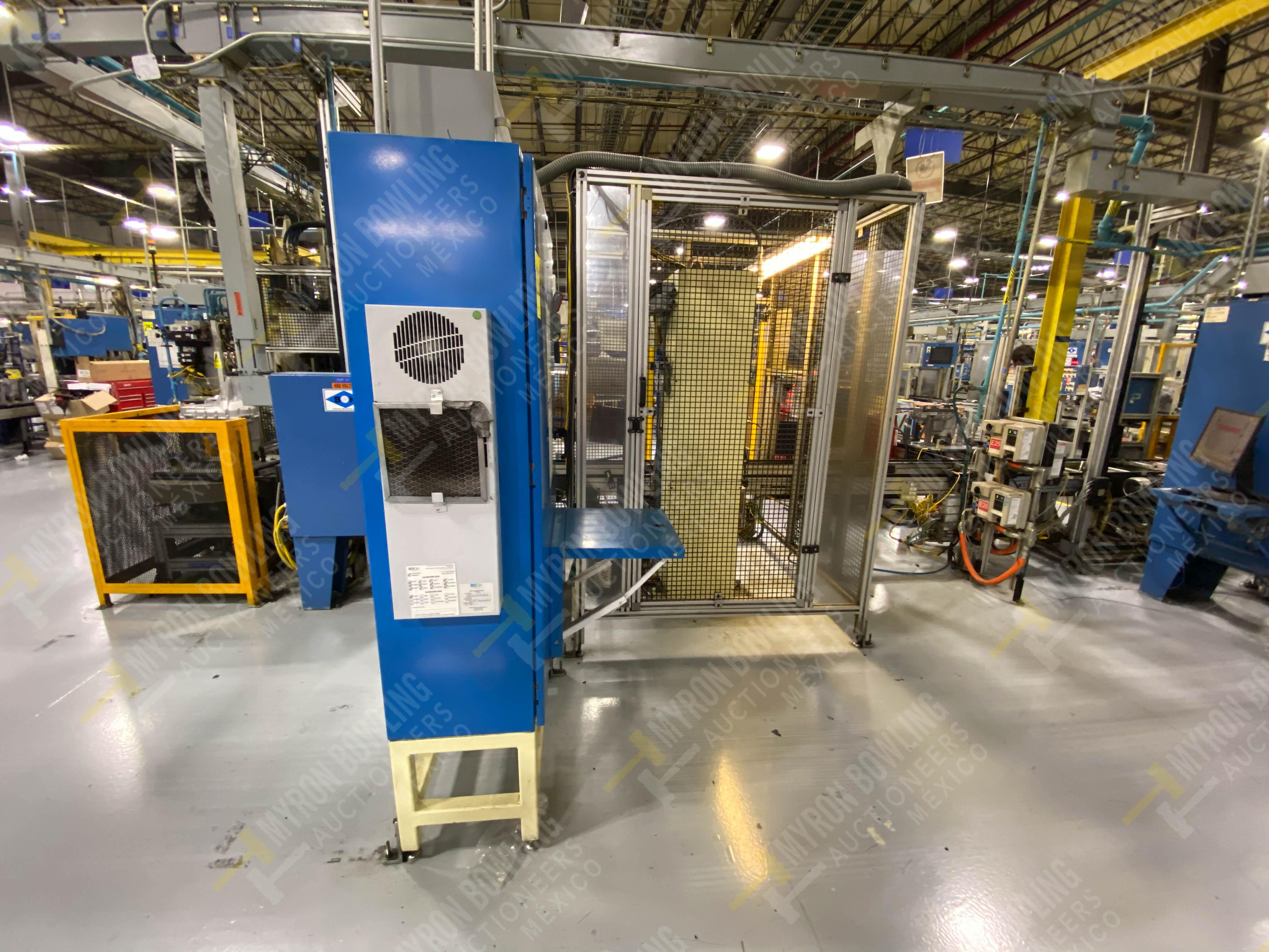 Estación manual para operación 383, contiene: Prensa marca PROMESS en estructura de placa de acero - Image 23 of 27
