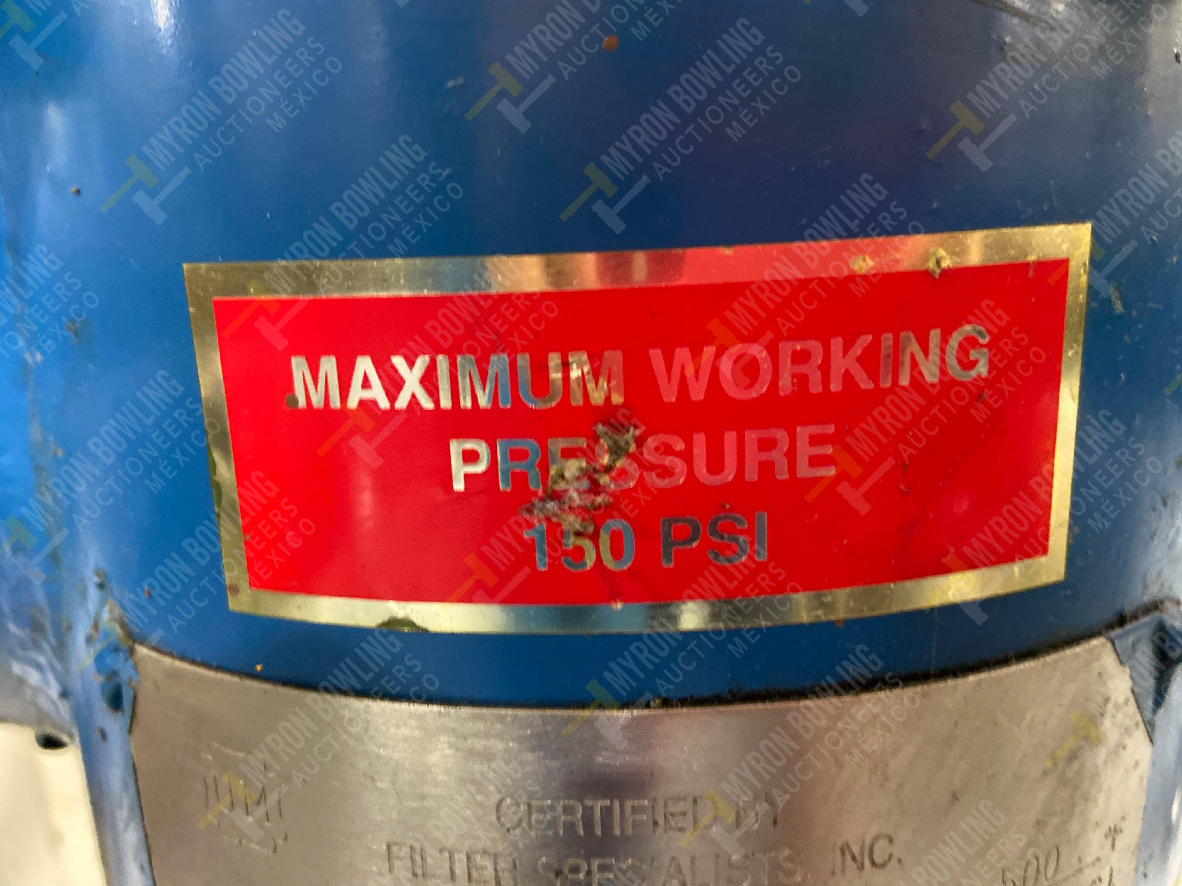 Bomba de aceite y filtros para el llenado de housings en lote 30 y 31. - Image 28 of 30
