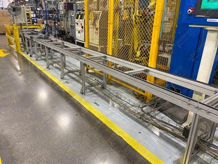 Conveyor de 350-380 mts lineales aproximadamente, con una altura de 0.60 x .55 metros - Image 10 of 12