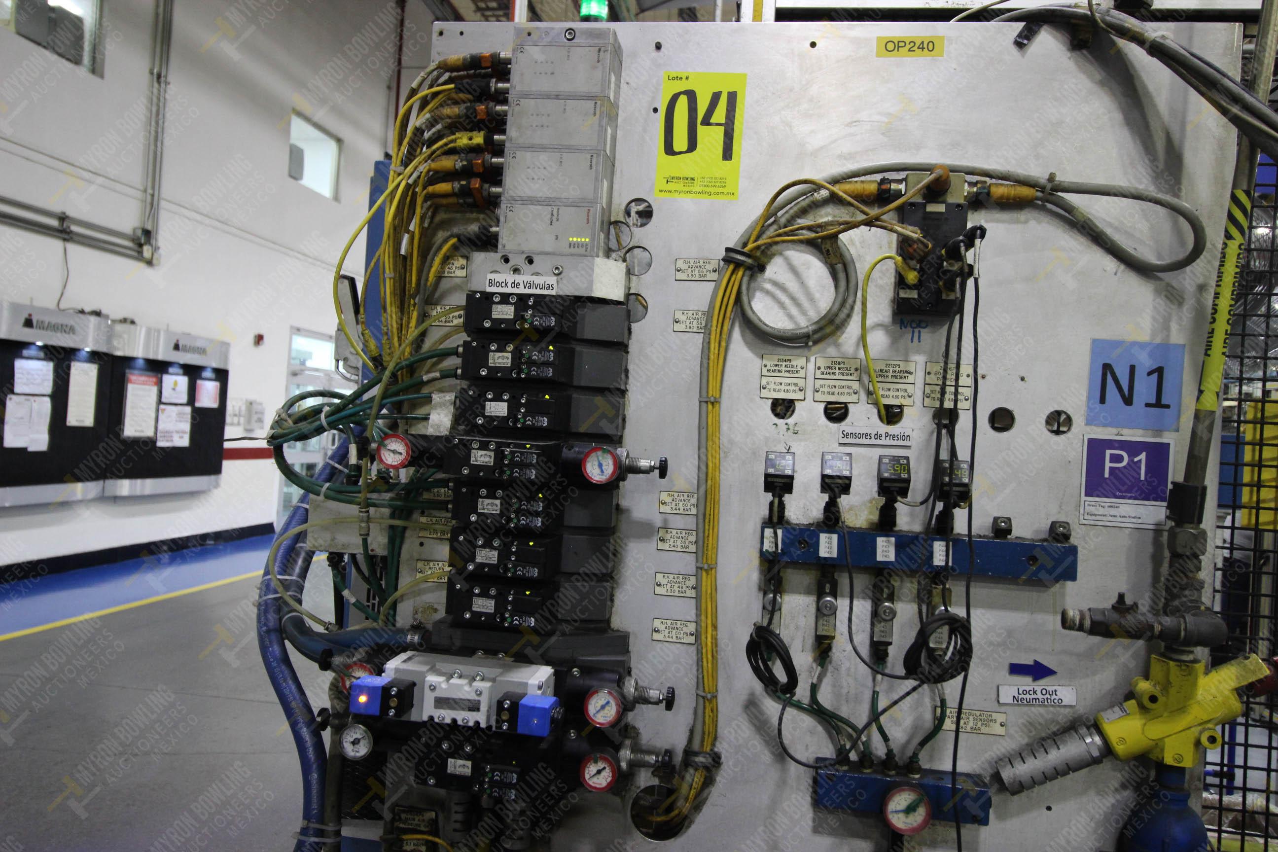 Estación semiautomática para operación 240A de ensamble de balero - Image 9 of 29