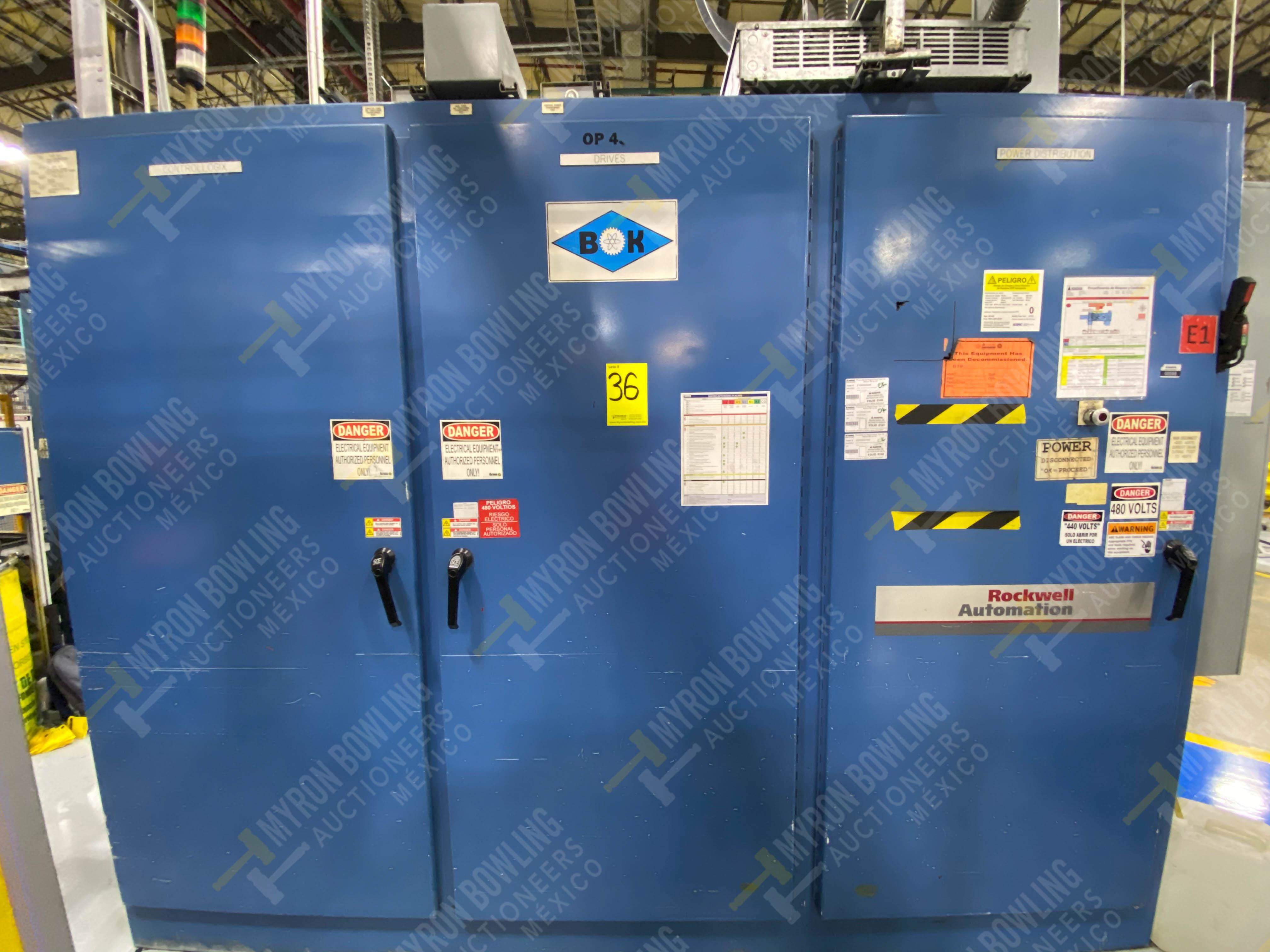 Estación semiautomática para operación 445, contiene: Máquina dinamómetro con sistema de revolución - Image 15 of 25