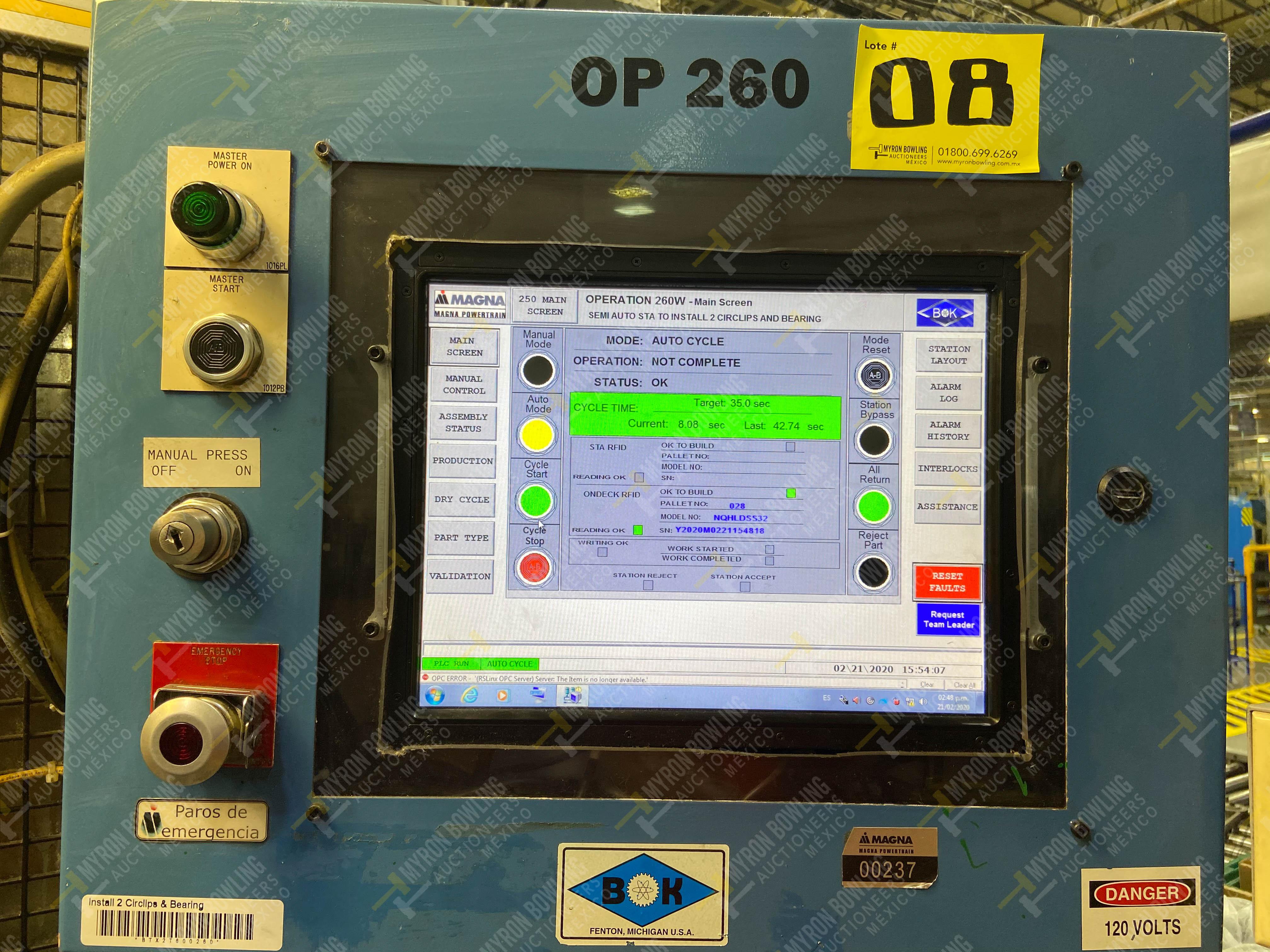 Estación semiautomática para operación 260 de ensamble - Image 19 of 20