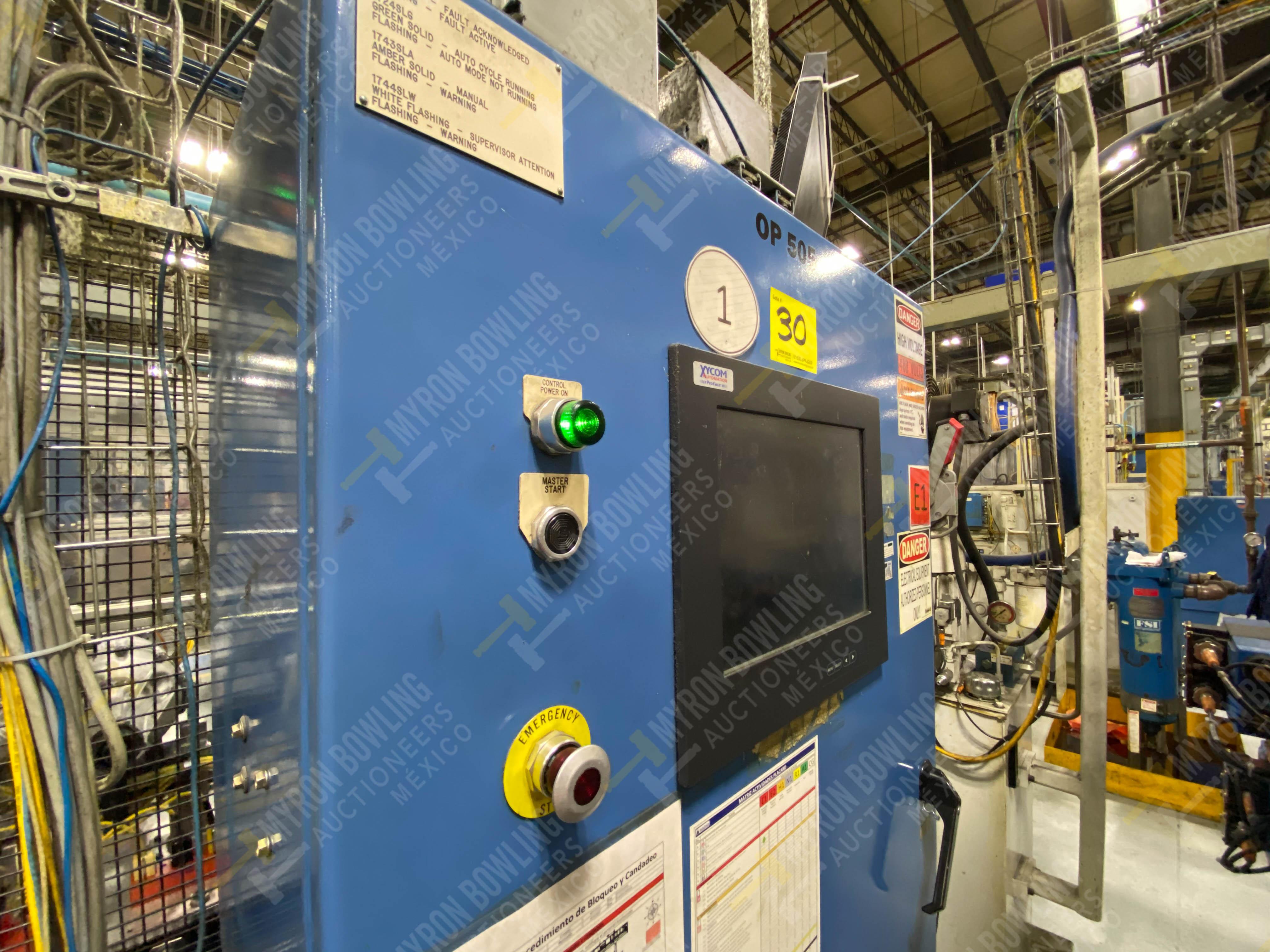 Estación semiautomática para operación 415, contiene: Máquina pesadora de piezas con 1 cilindro - Image 2 of 16