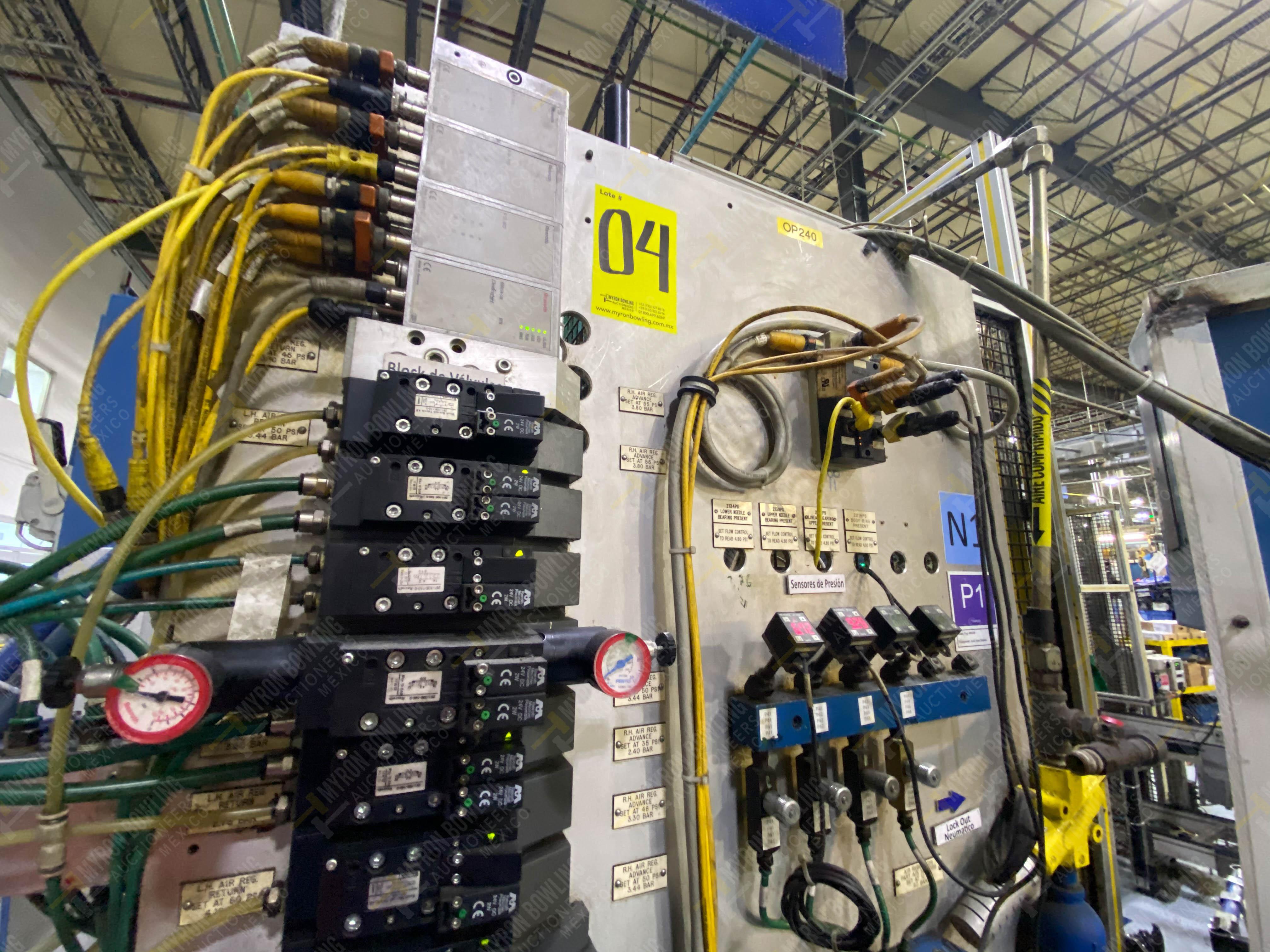 Estación semiautomática para operación 240A de ensamble de balero - Image 12 of 29