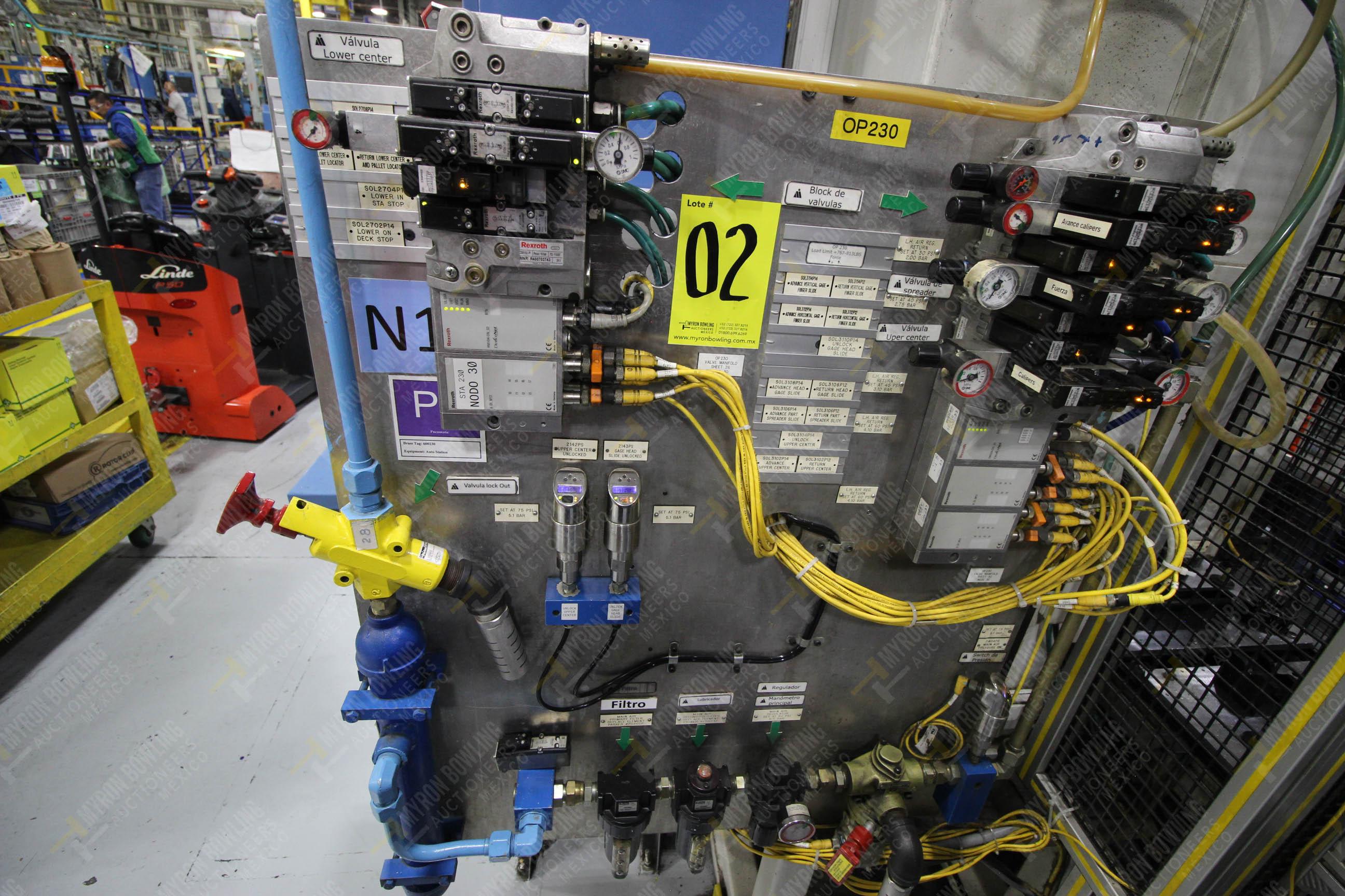 Estación automática para operación 230, para medición de gap - Image 33 of 36