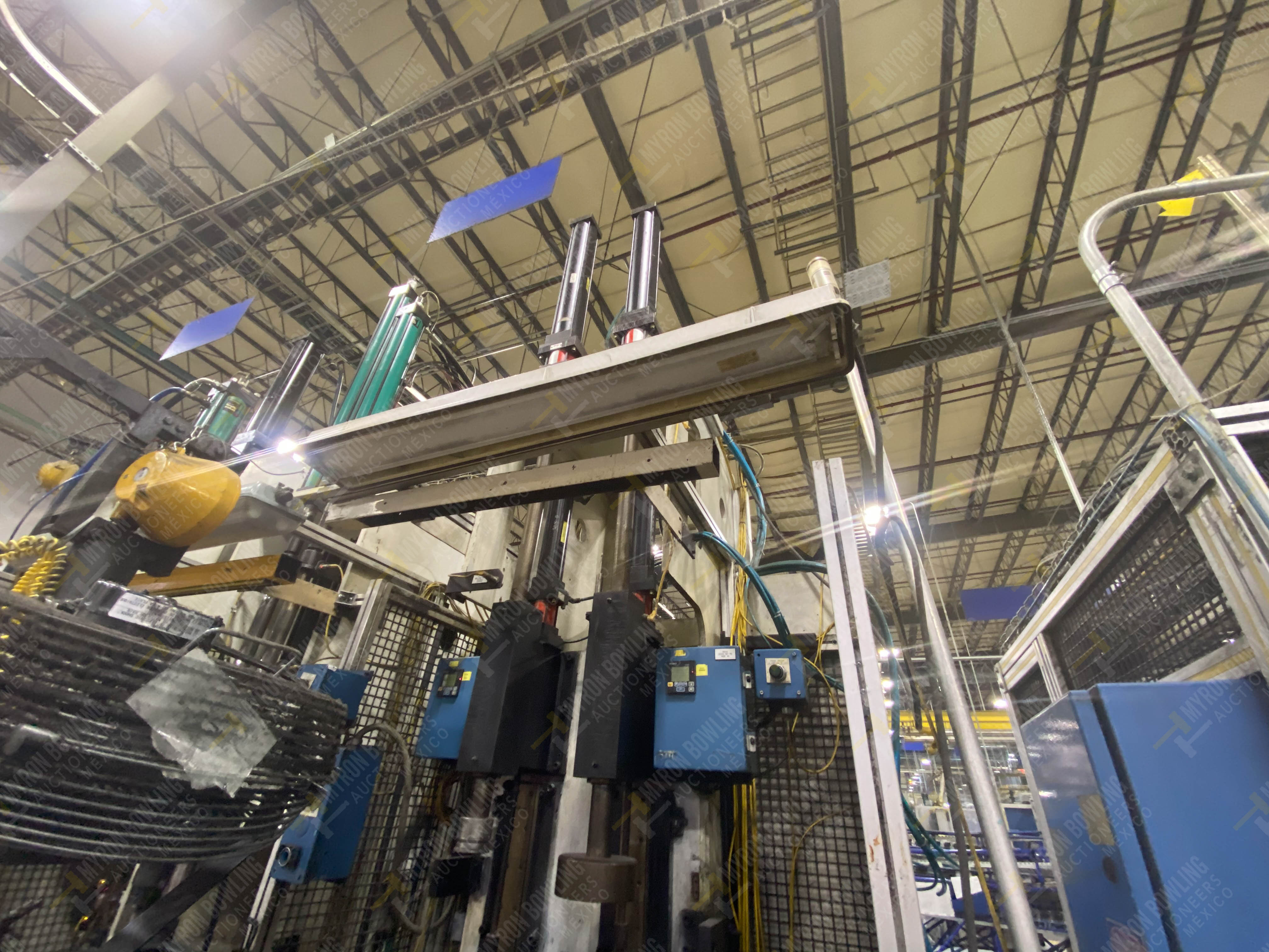 Estación semiautomática para operación 305D, contiene: Prensa tipo cuello de ganso con dos cilindros - Image 5 of 20
