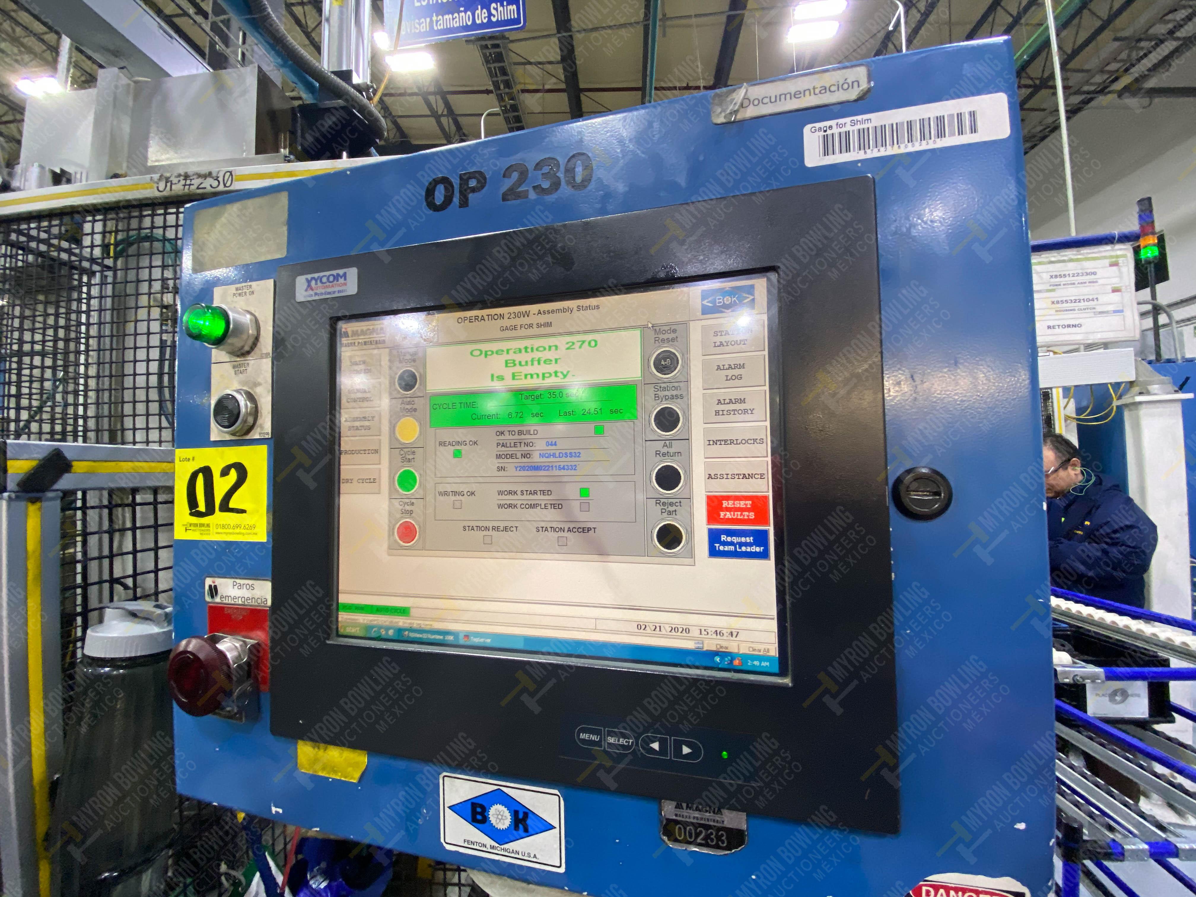 Estación automática para operación 230, para medición de gap - Image 35 of 36