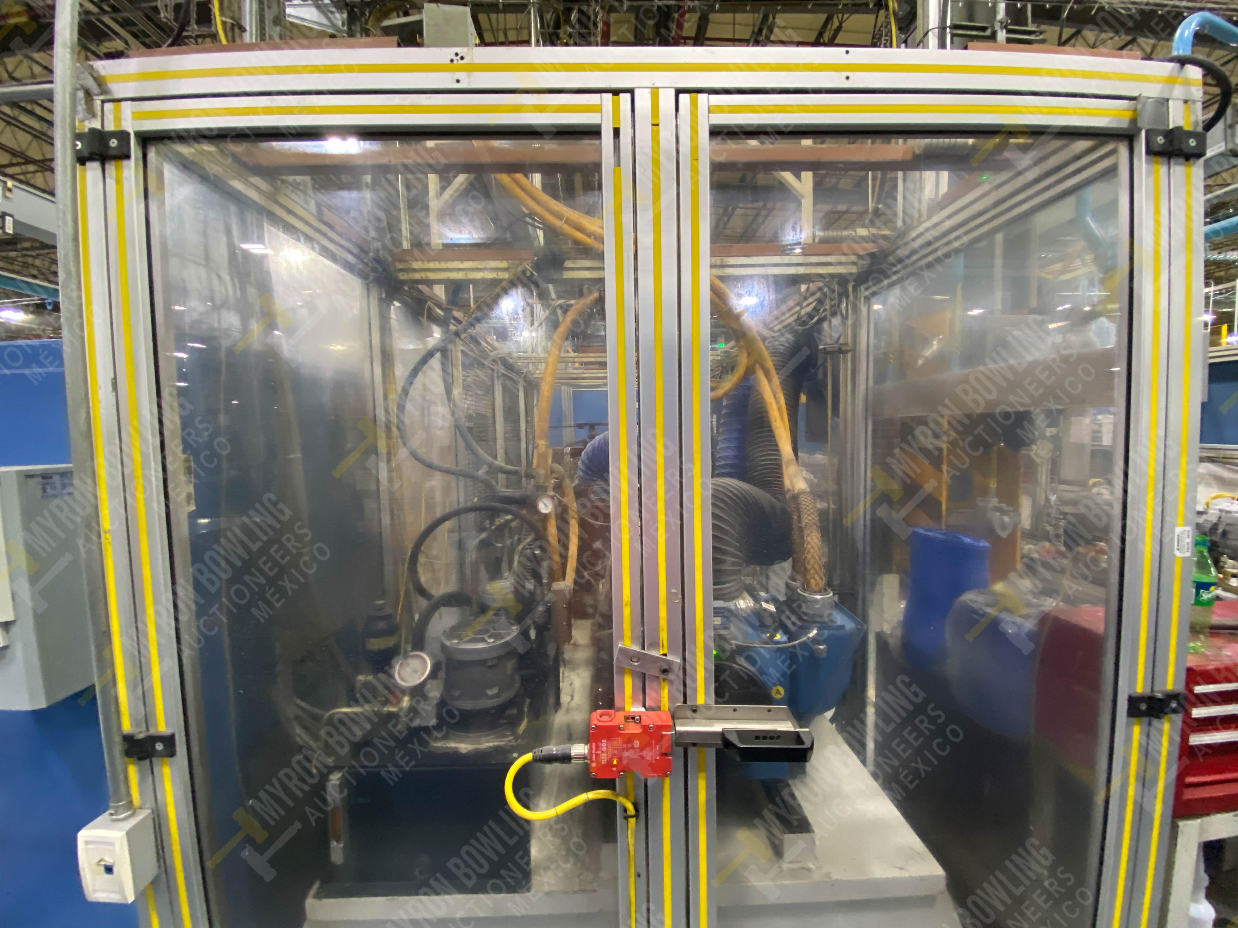 Estación semiautomática para operación 430, contiene: Máquina dinamómetro con sistema de revolución - Image 6 of 32