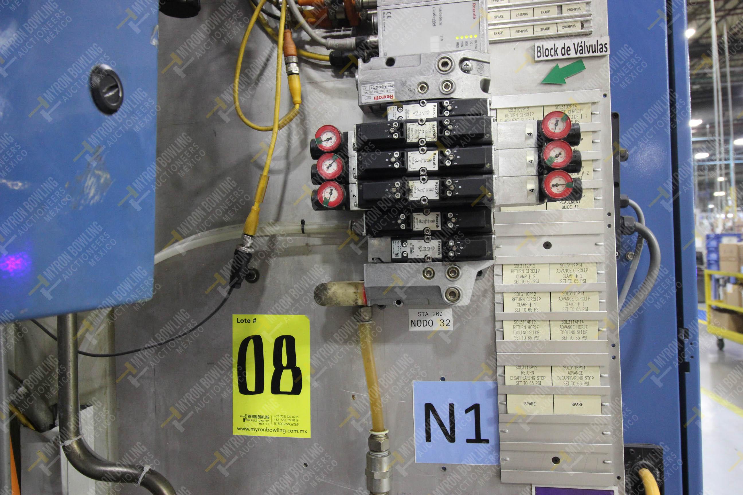 Estación semiautomática para operación 260 de ensamble - Image 15 of 20