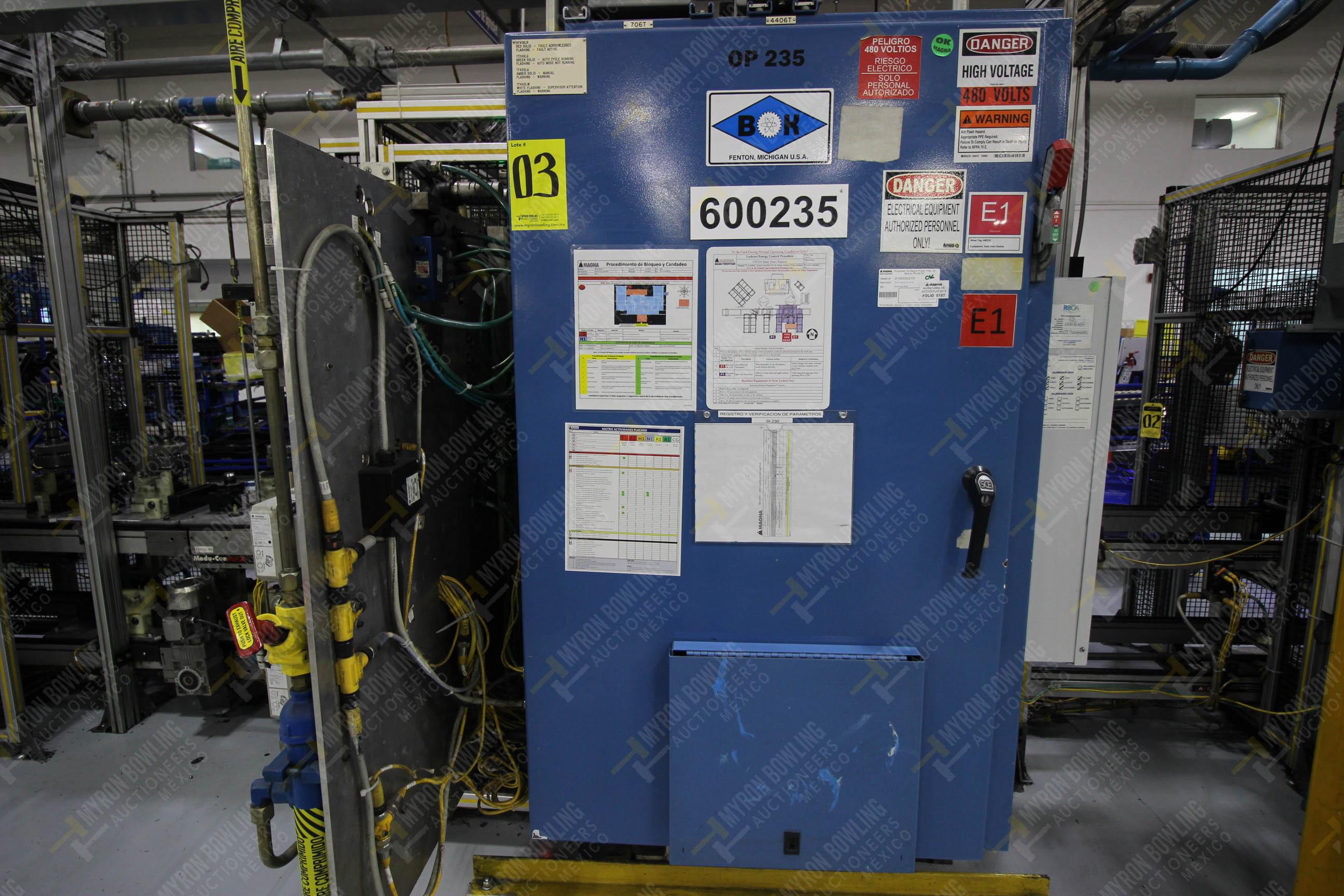 Estación semiautomáticapara operación 235 de ensamble de candado - Image 17 of 22