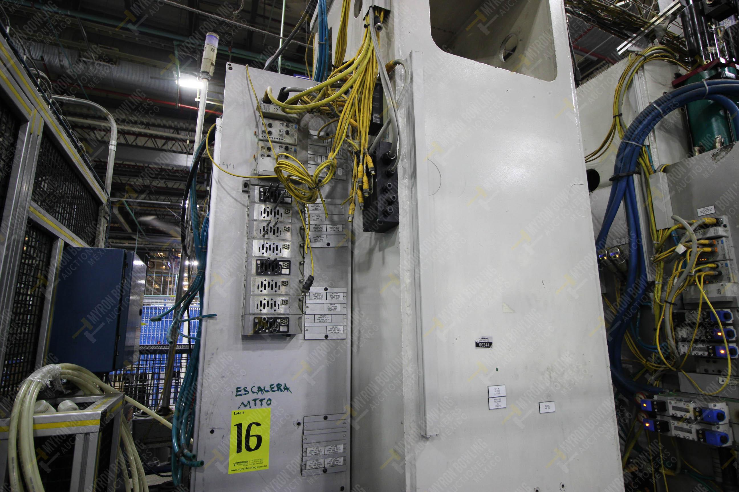 Estación semiautomática para operación 305D, contiene: Prensa tipo cuello de ganso con dos cilindros - Image 13 of 20