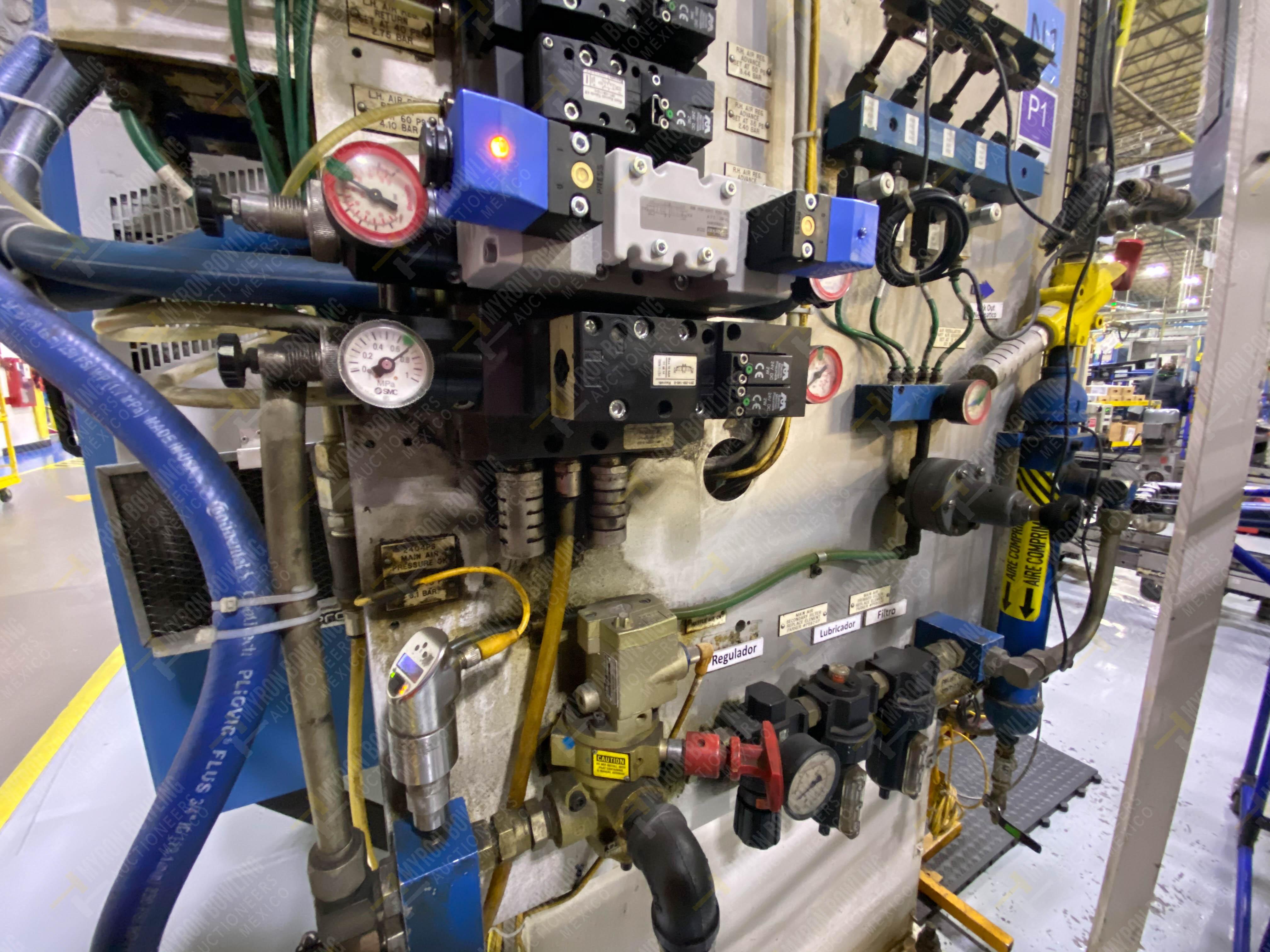 Estación semiautomática para operación 240A de ensamble de balero - Image 14 of 29